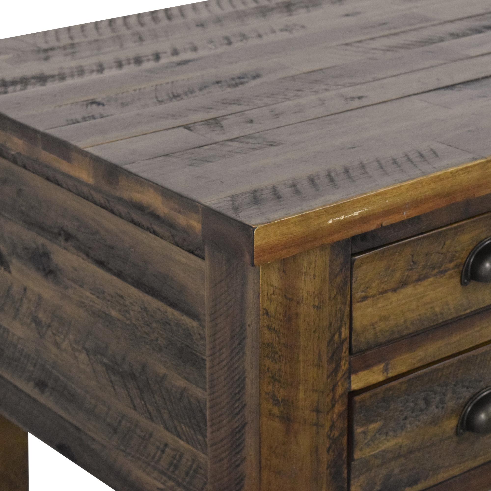 buy Jofran Jofran Artisans Craft Five Drawer Writing Desk online