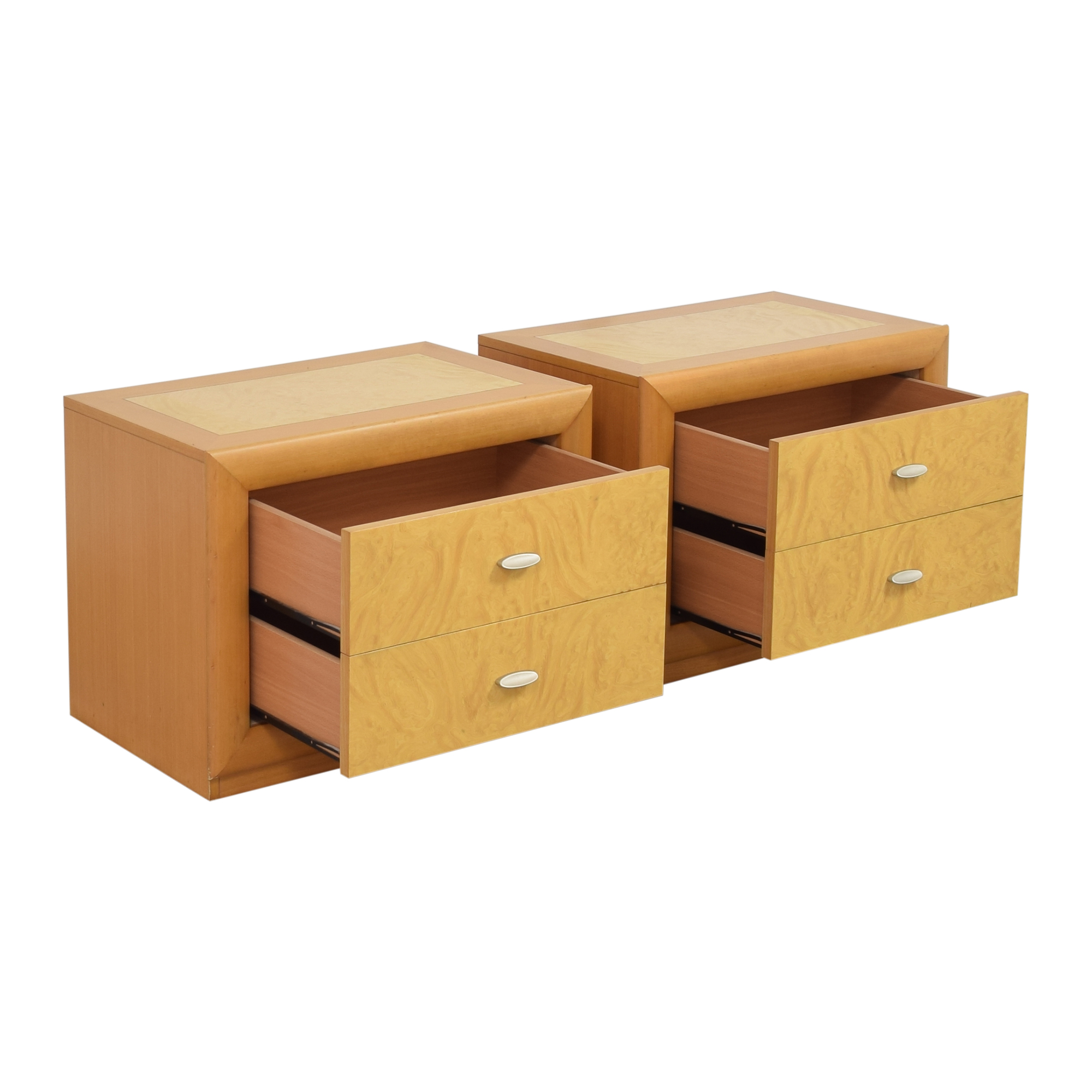 Z Gallerie Z Gallerie Two Drawer Nightstands for sale