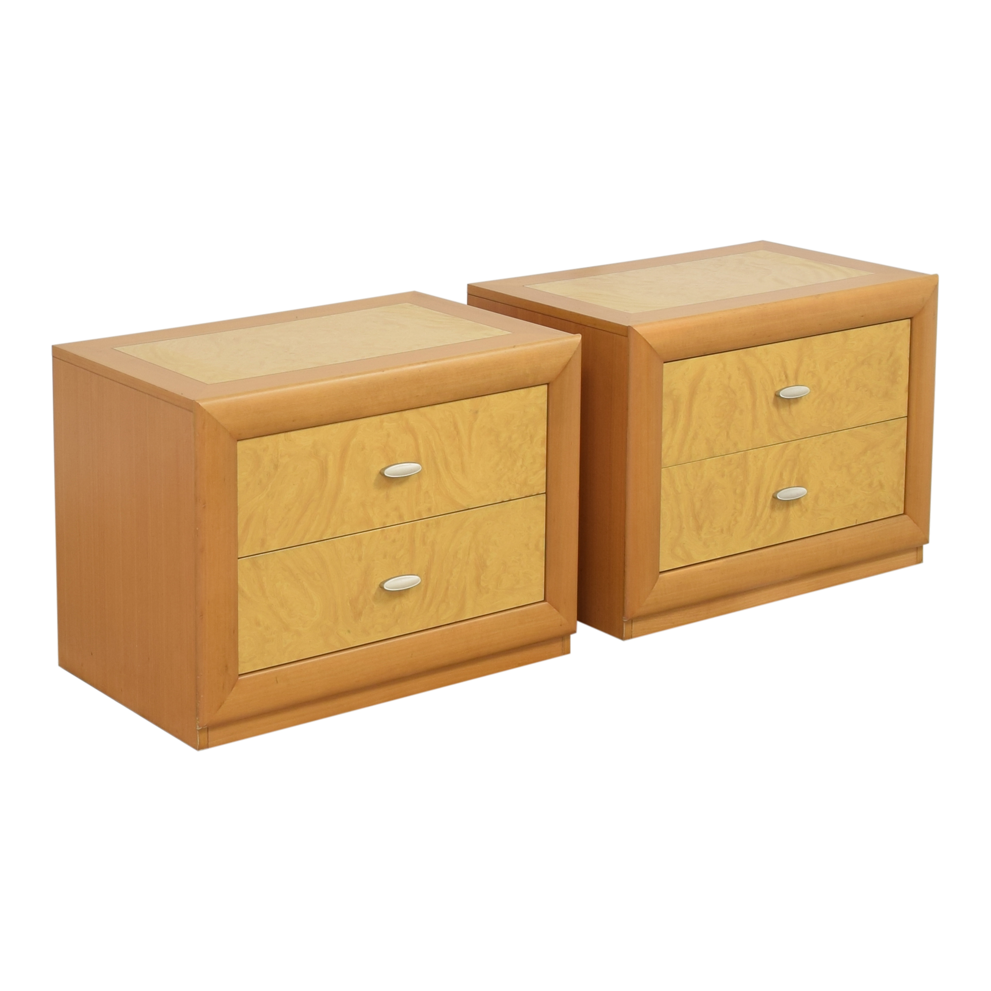 Z Gallerie Z Gallerie Two Drawer Nightstands used