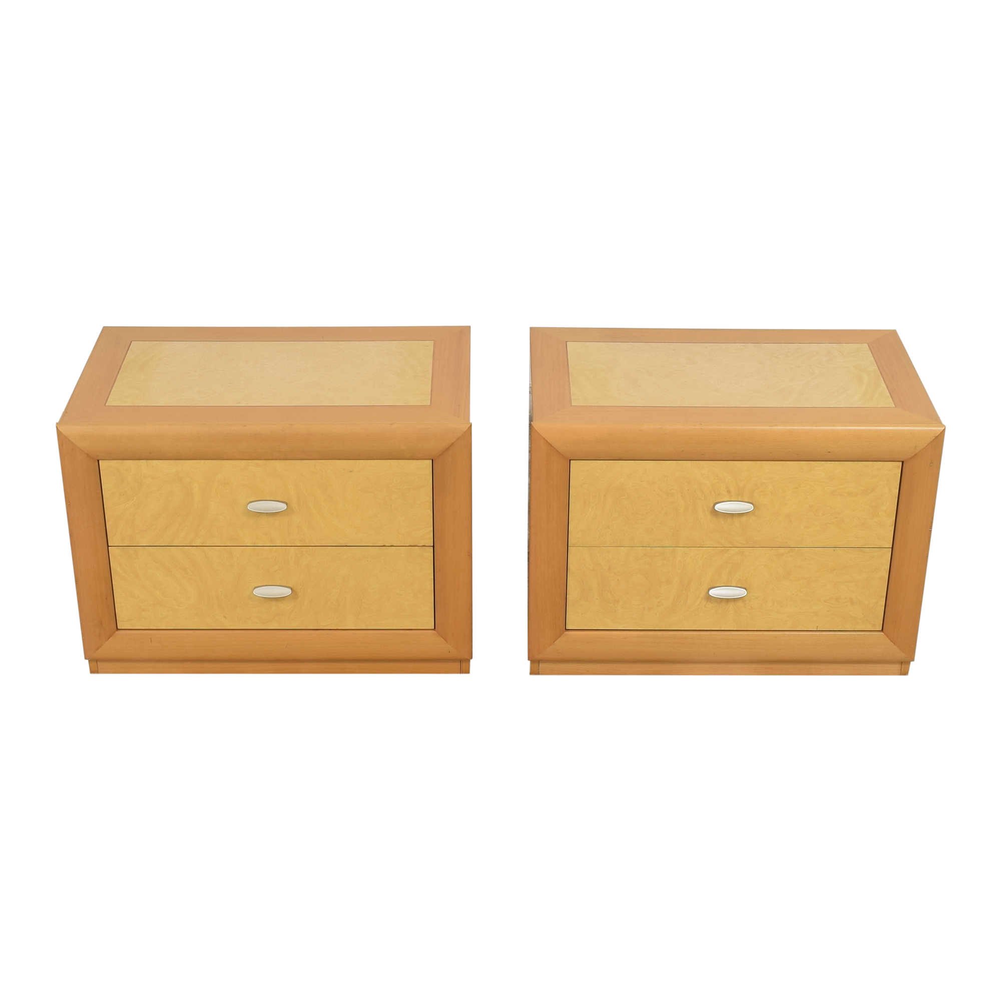 Z Gallerie Z Gallerie Two Drawer Nightstands End Tables