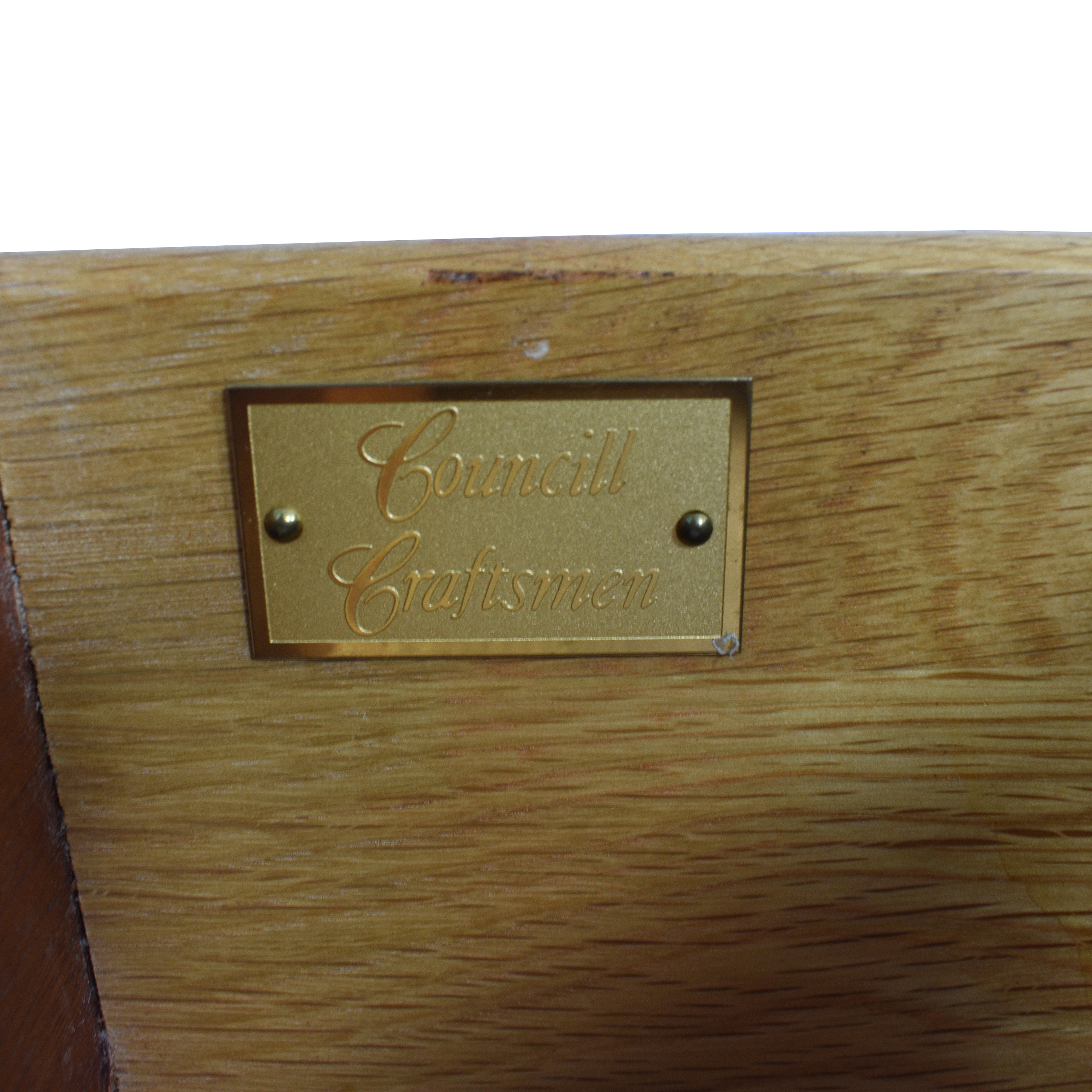 Councill Councill Craftsmen Three Drawer Nightstands dimensions