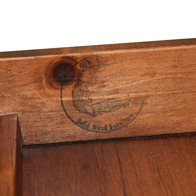 Custom Roll Top Double Pedestal Desk pa