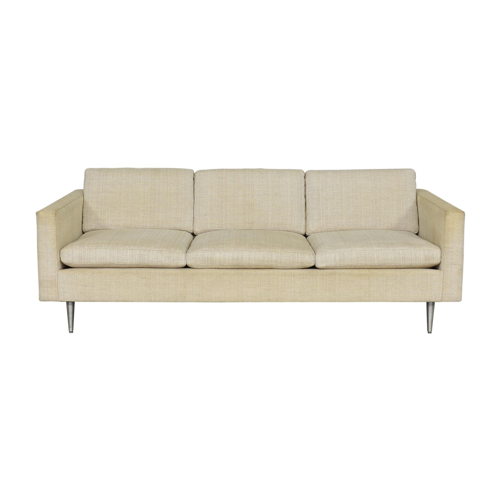 Mid-Century Modern Three Cushion Sofa on sale