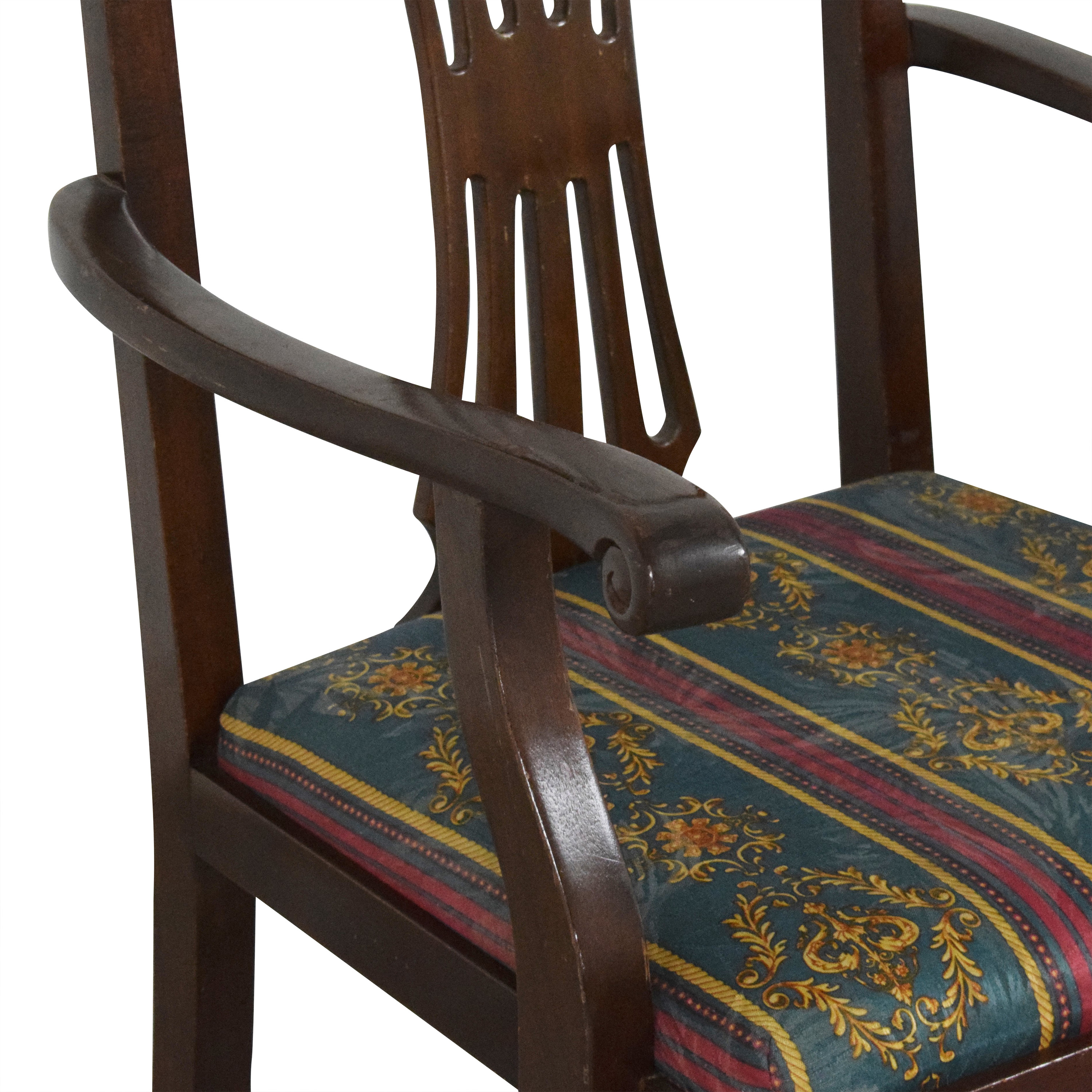buy Chippendale Dining Arm Chairs