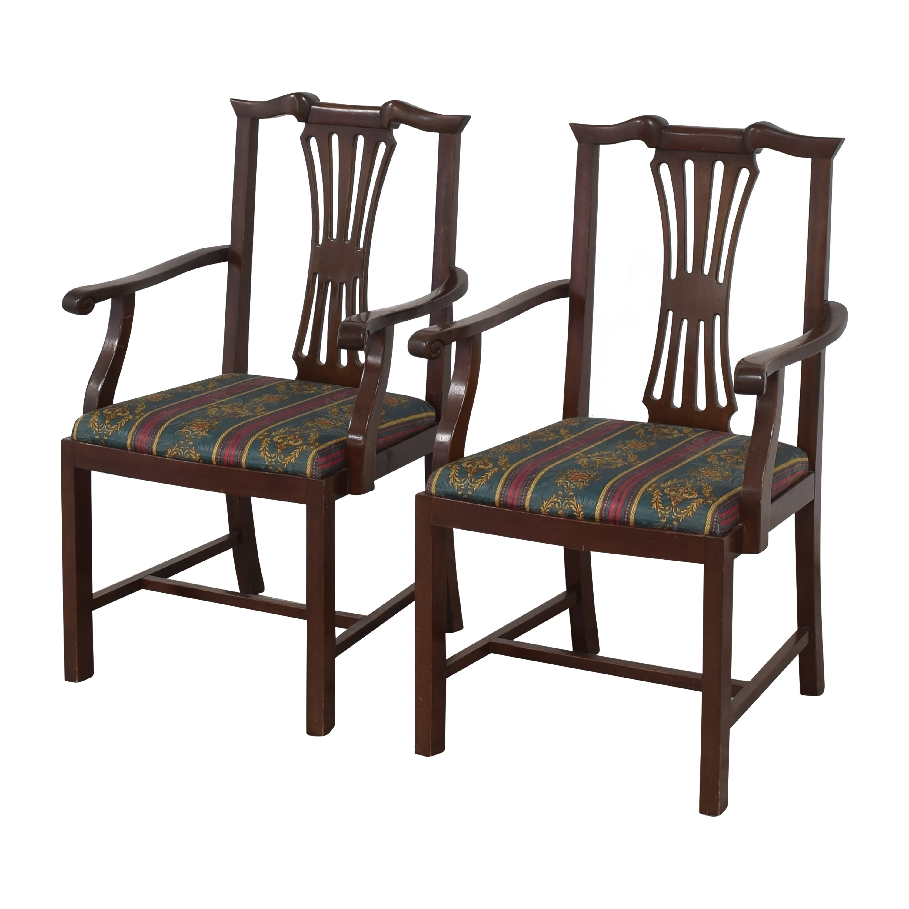 Chippendale Dining Arm Chairs / Dining Chairs