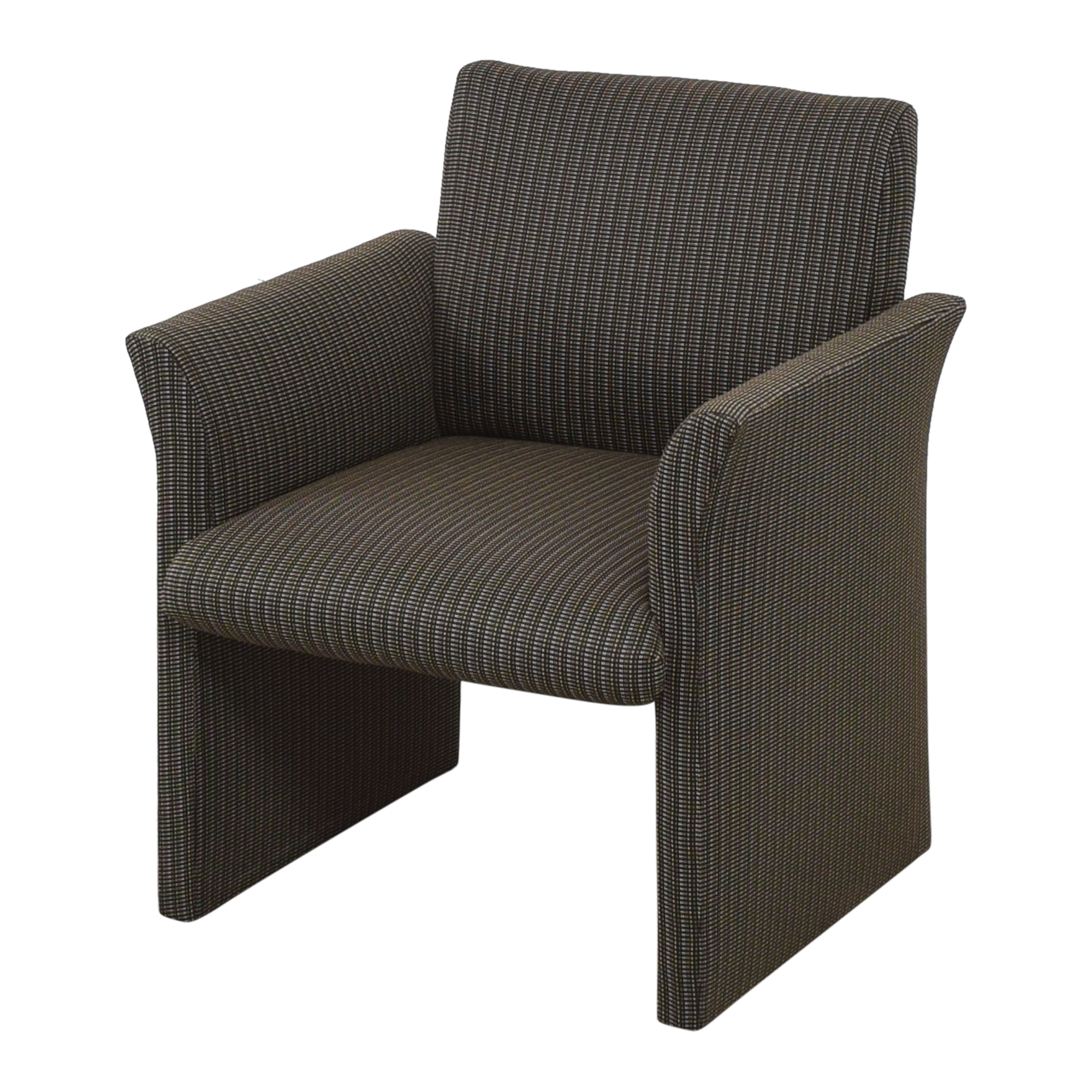 buy Contemporary Upholstered Club Chair  Accent Chairs