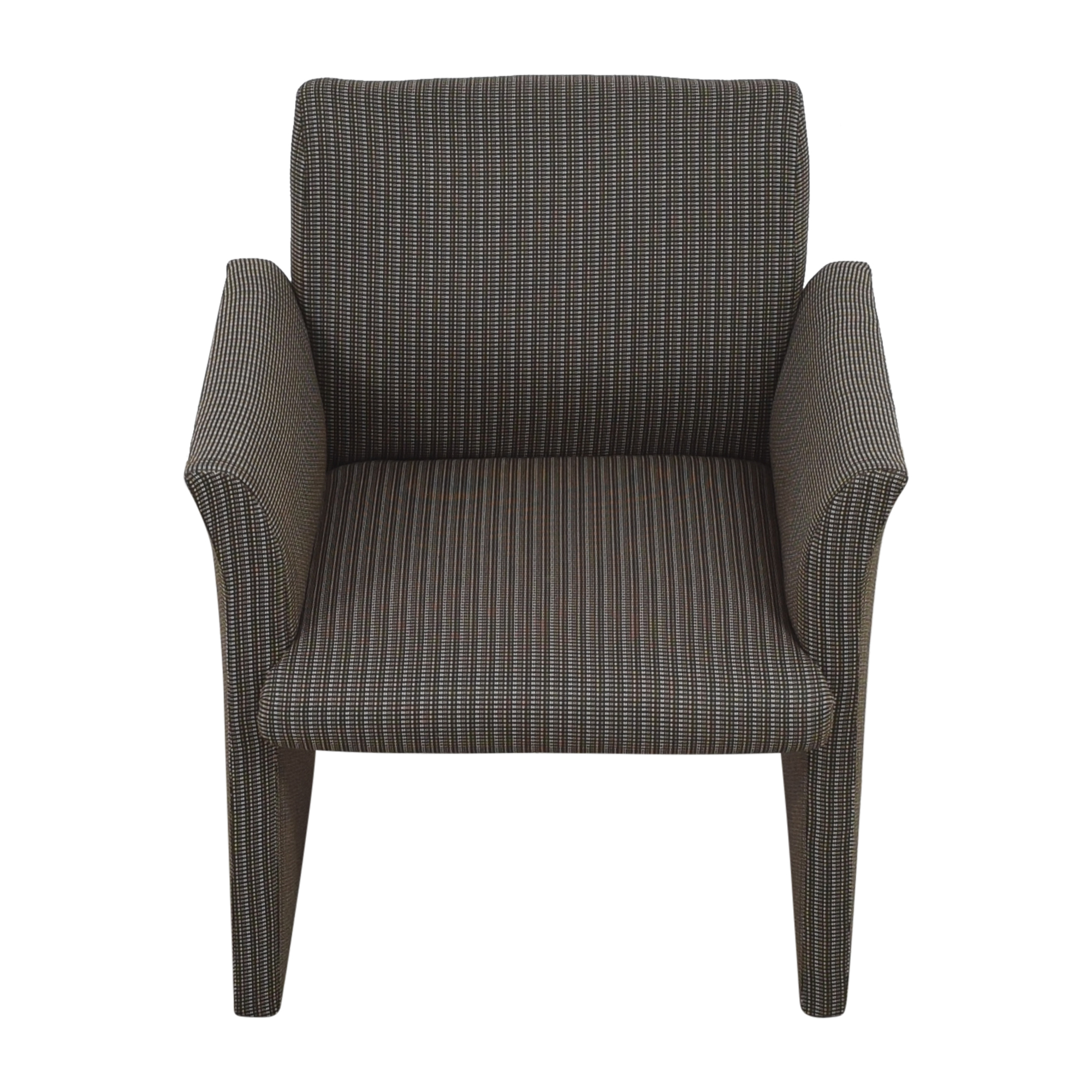 Contemporary Upholstered Club Chair on sale