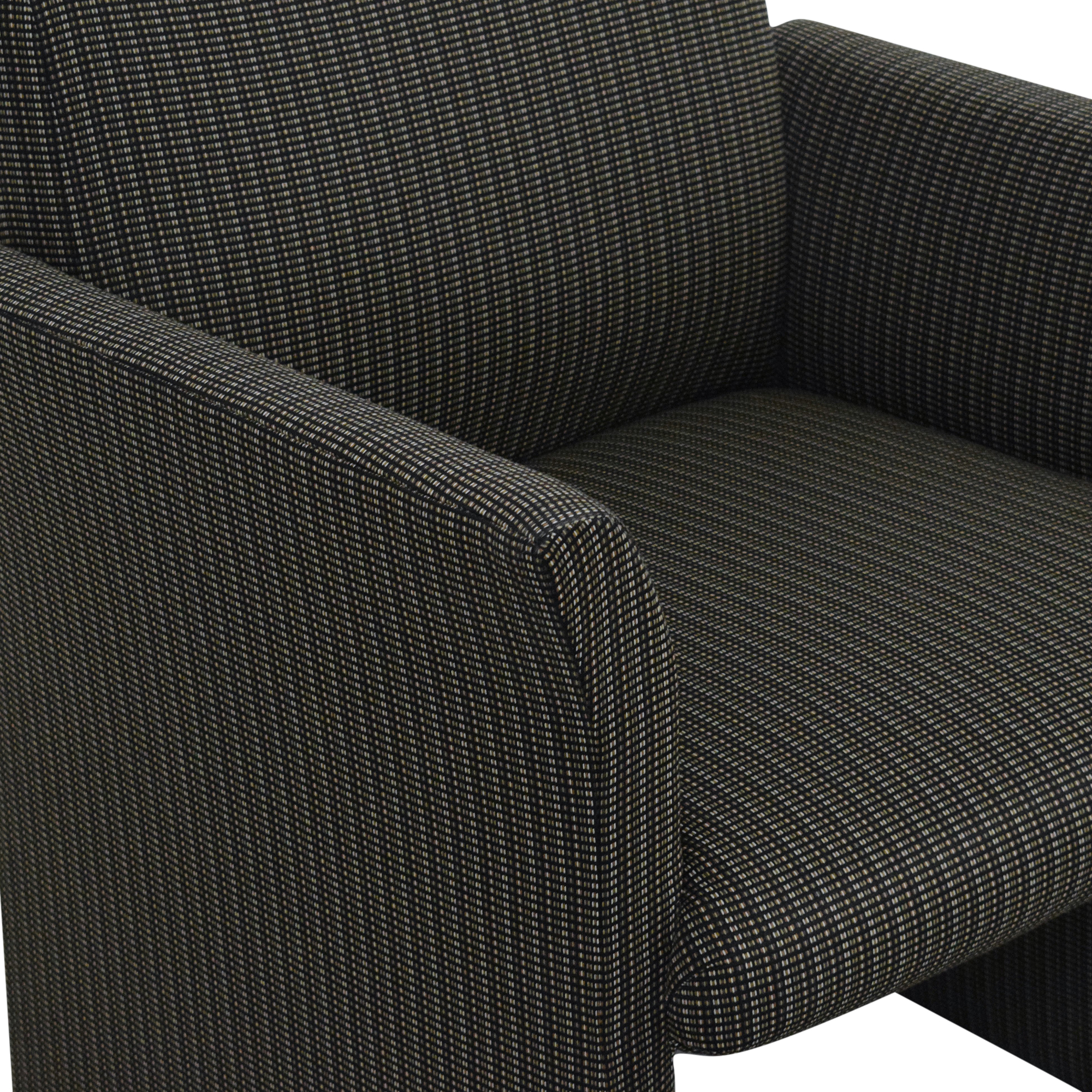 Contemporary Upholstered Club Chair Chairs