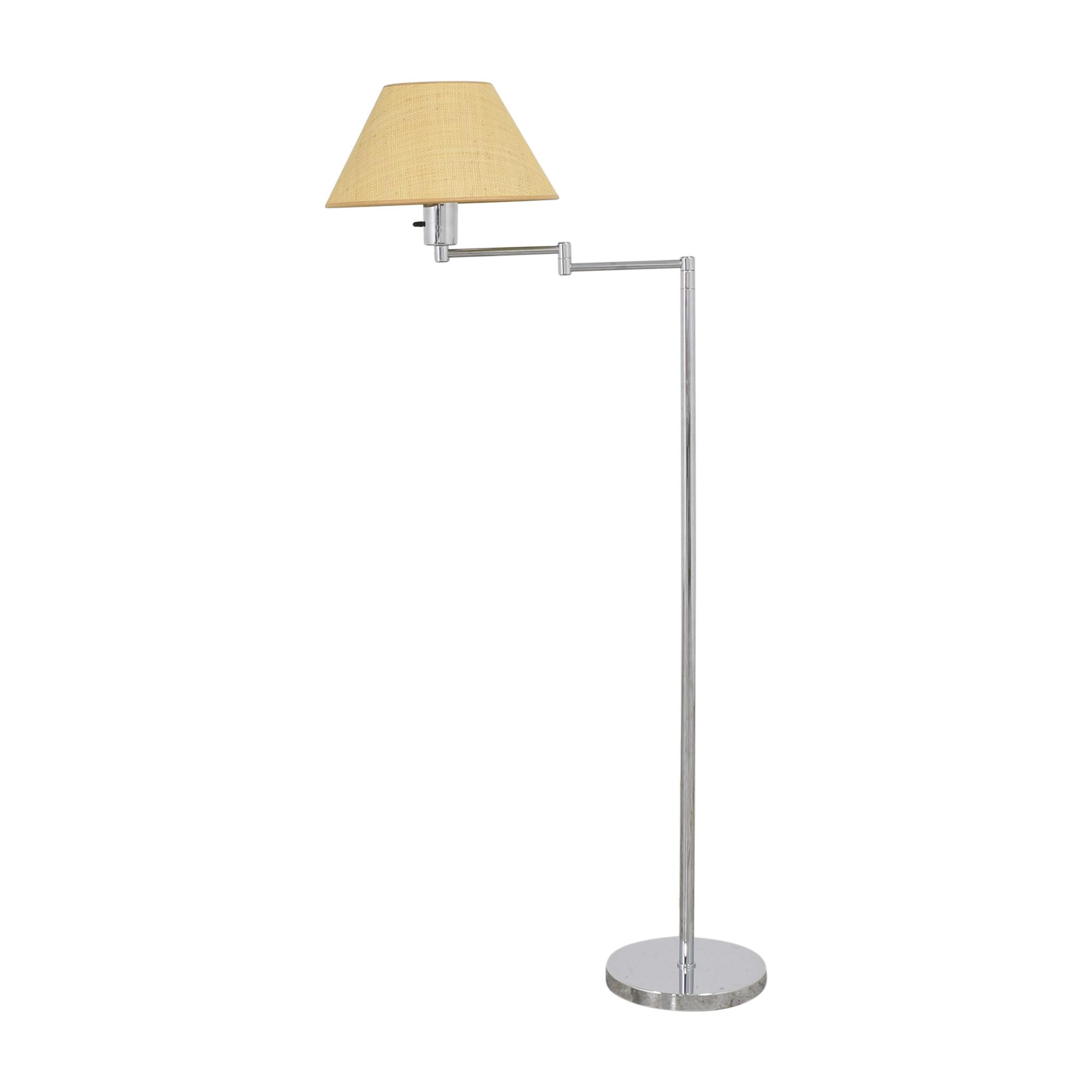 Scalamandre Scalamandre Hansen Double Swing Arm Floor Lamp nyc
