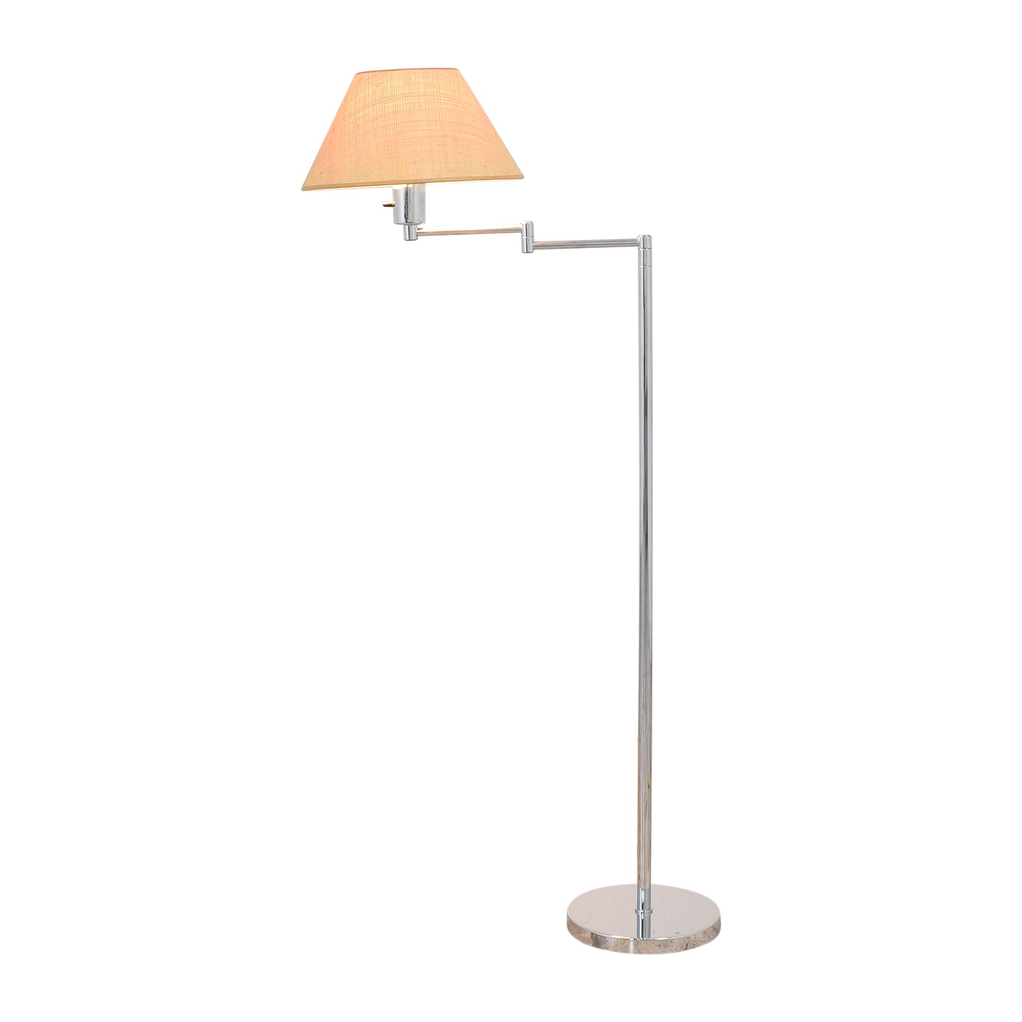 Scalamandre Hansen Double Swing Arm Floor Lamp / Lamps