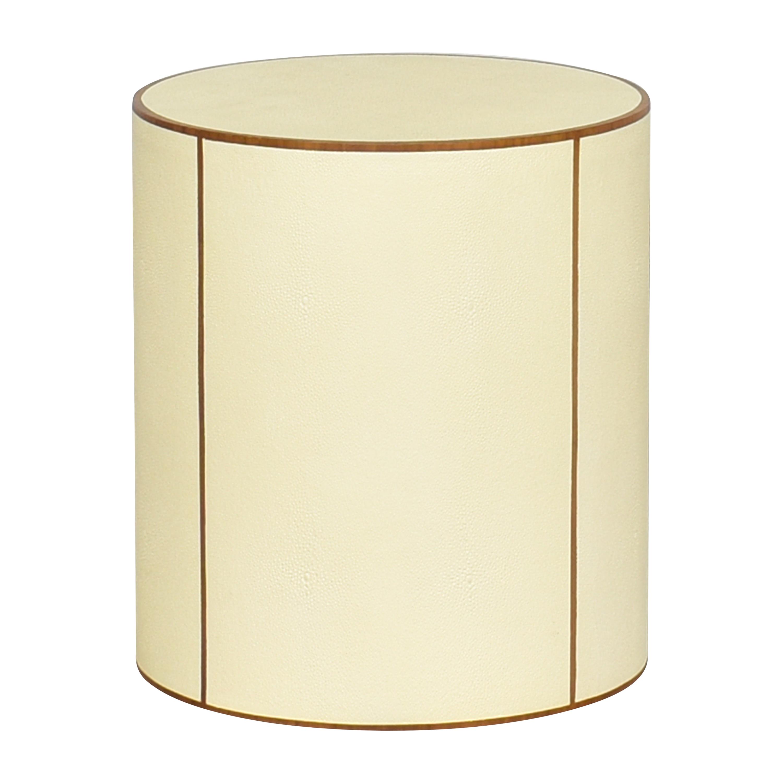 shop Palecek Round Side Table Palecek End Tables