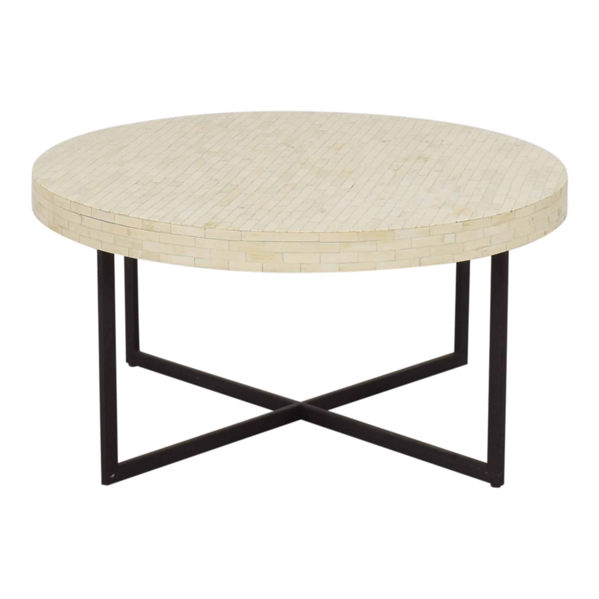 West Elm West Elm Bone Coffee Table ma