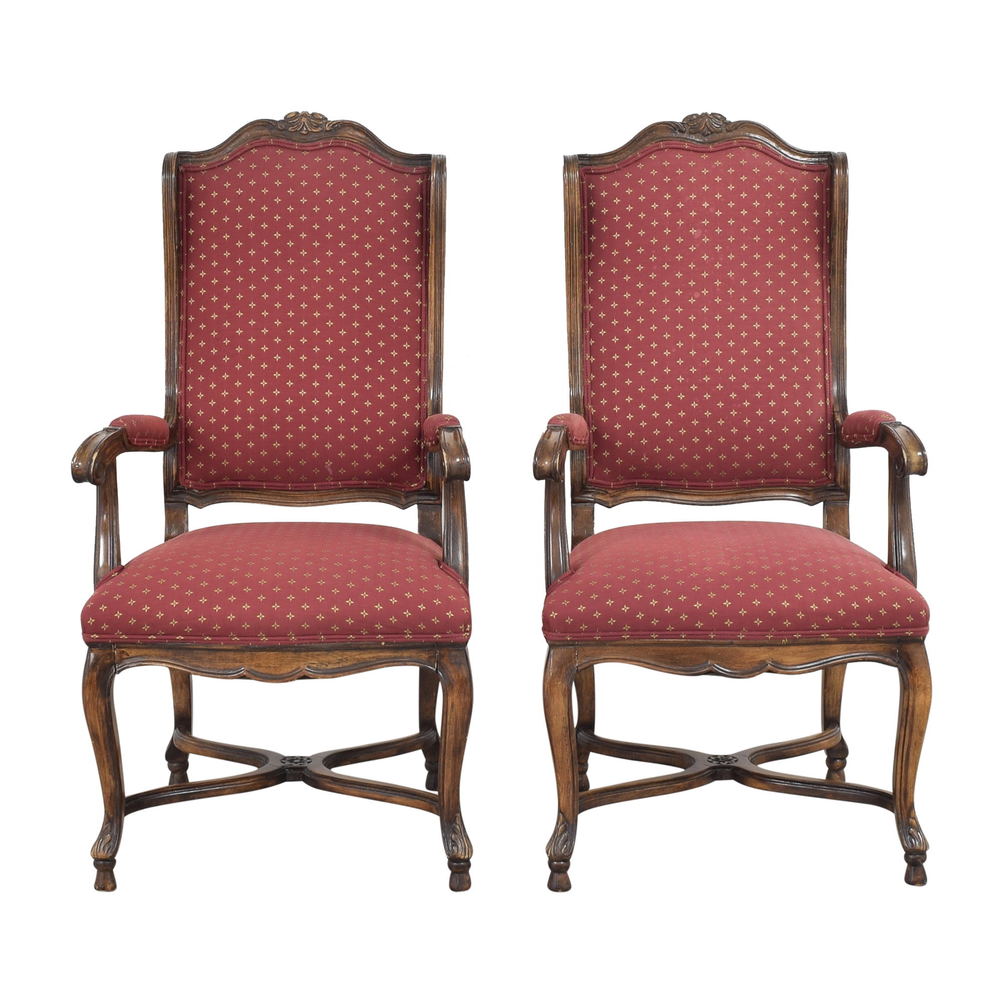 High Wing Back Dining Side Chairs Chairs