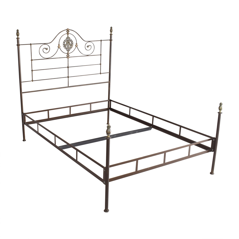 Openwork Queen Bed on sale