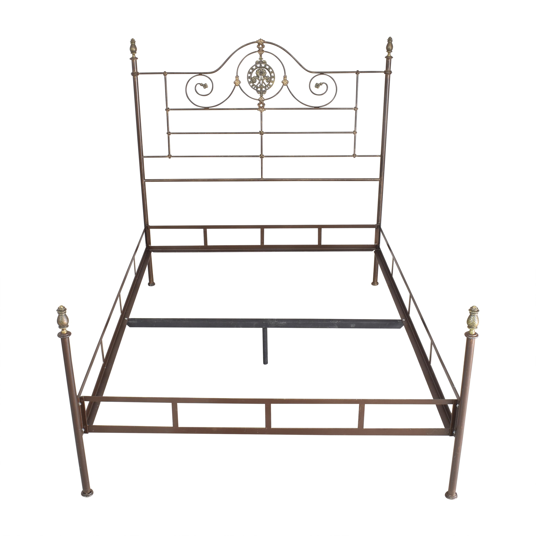 shop Openwork Queen Bed  Beds