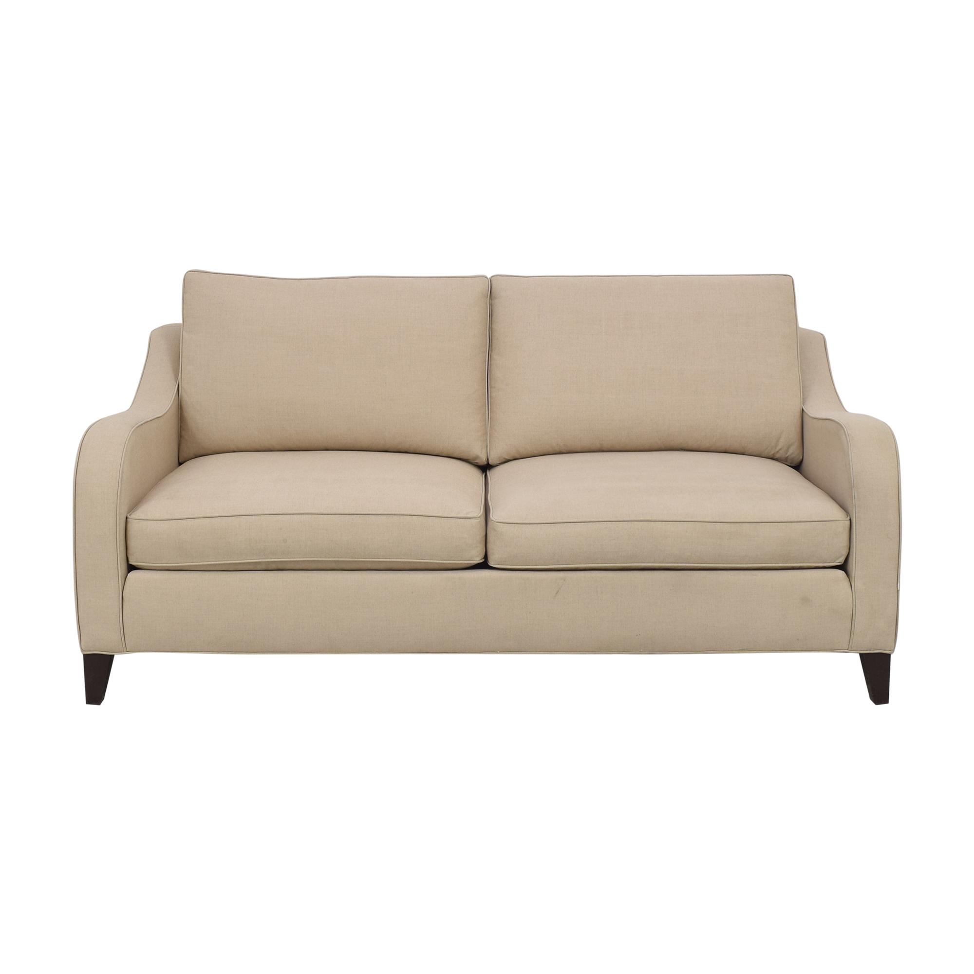 buy Ethan Allen Two Cushion Sofa Ethan Allen Classic Sofas