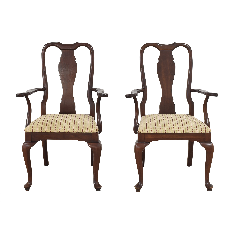 Ethan Allen Ethan Allen Georgian Court Dining Arm Chairs on sale