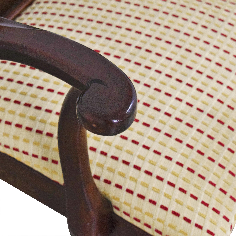 shop Ethan Allen Georgian Court Dining Arm Chairs Ethan Allen