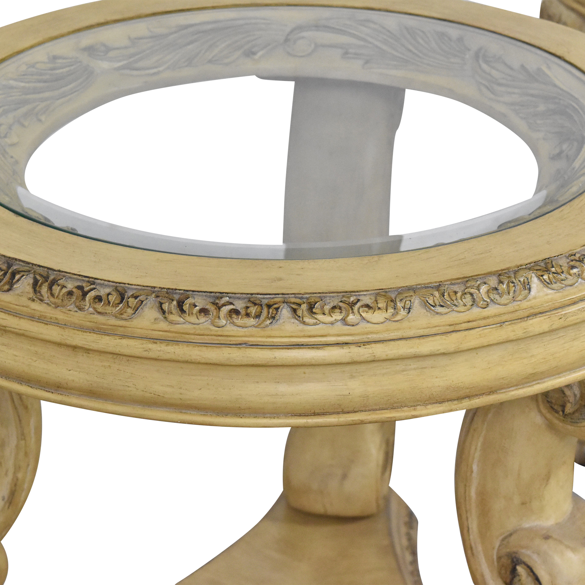 Schnadig Empire Round Side Tables sale