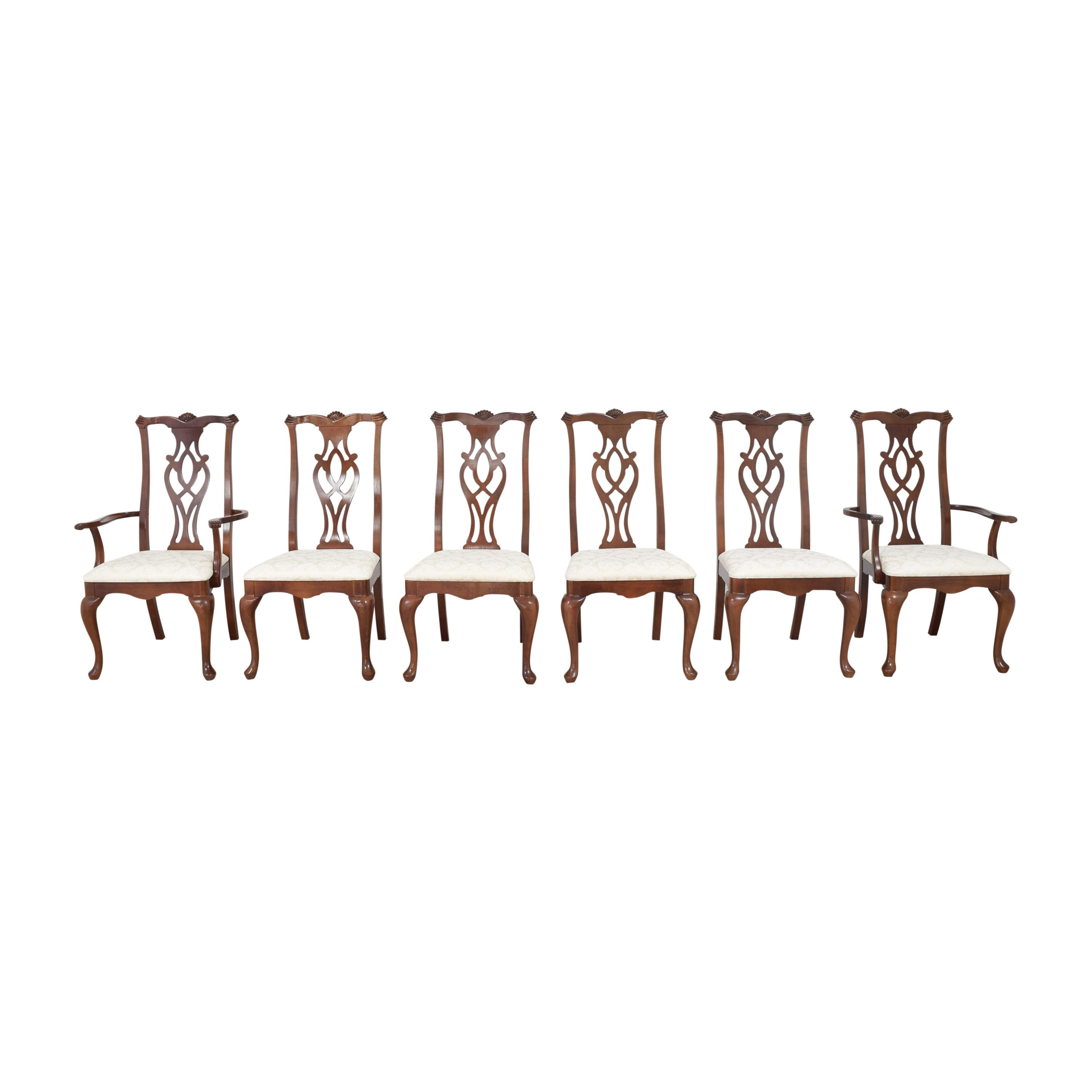 Thomasville Thomasville Chippendale Style Dining Chairs