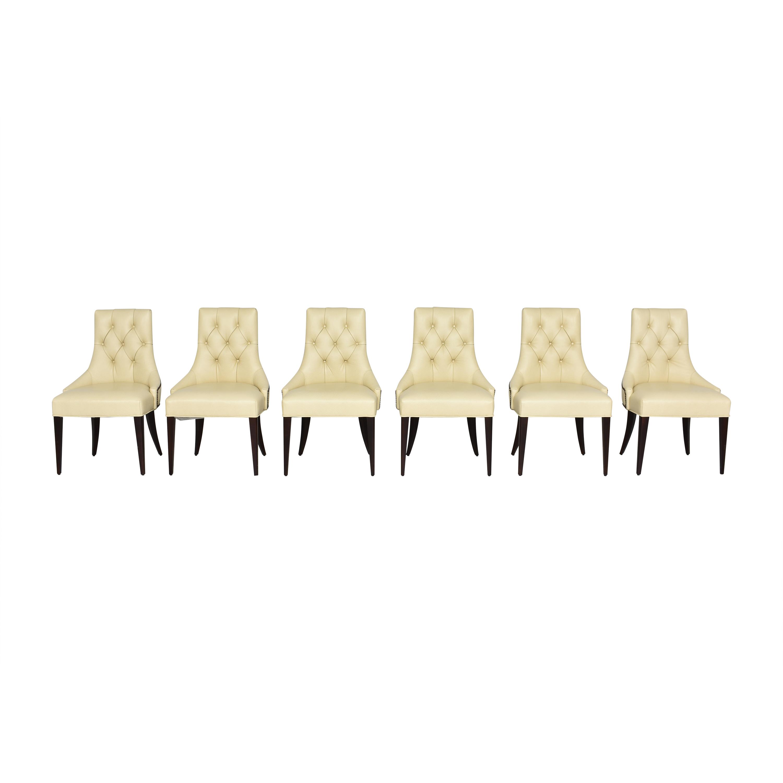 buy Thomas Pheasant for Baker Ritz Dining Chairs Baker Furniture