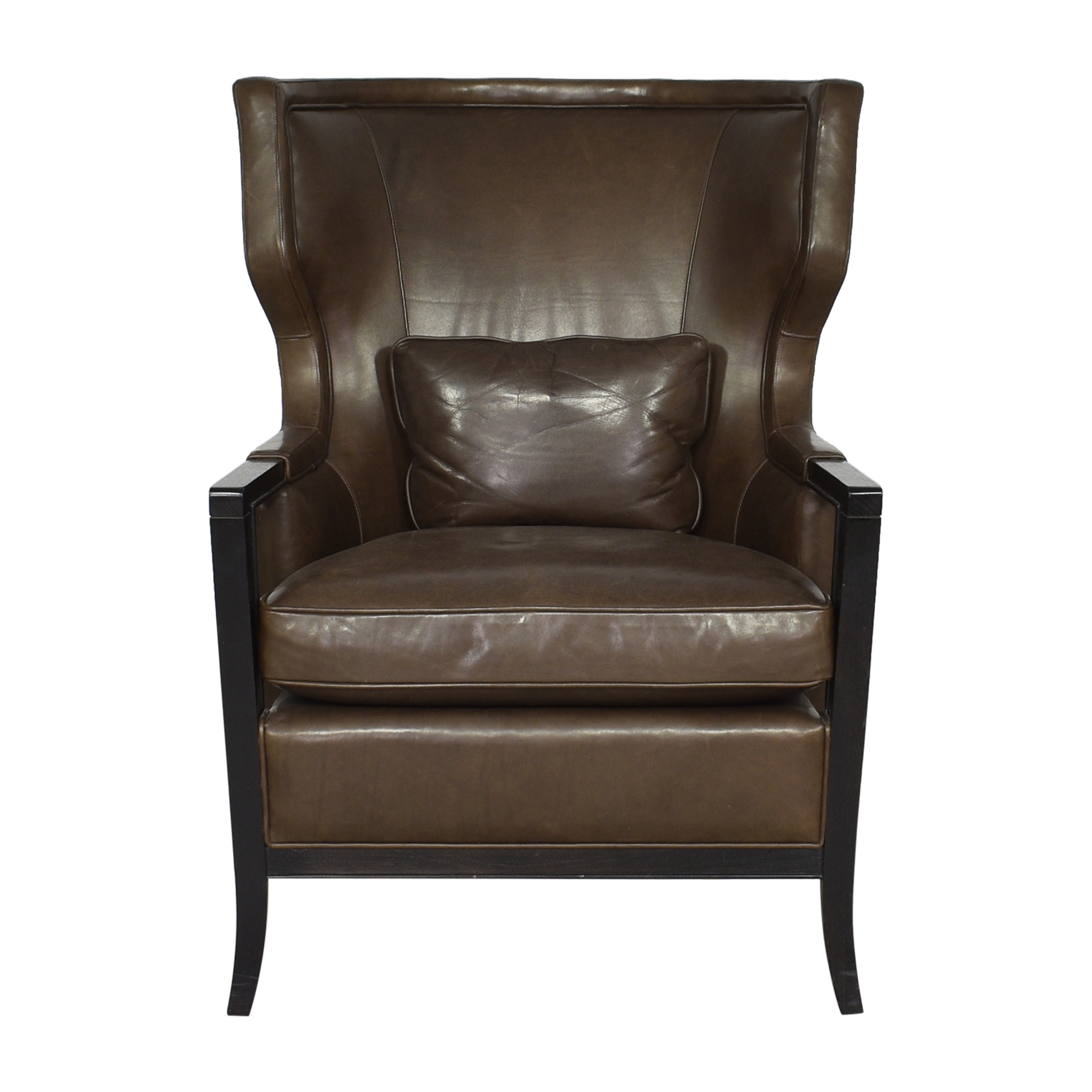 Baker Furniture Bill Sofield Manor Wing Chair Baker Furniture