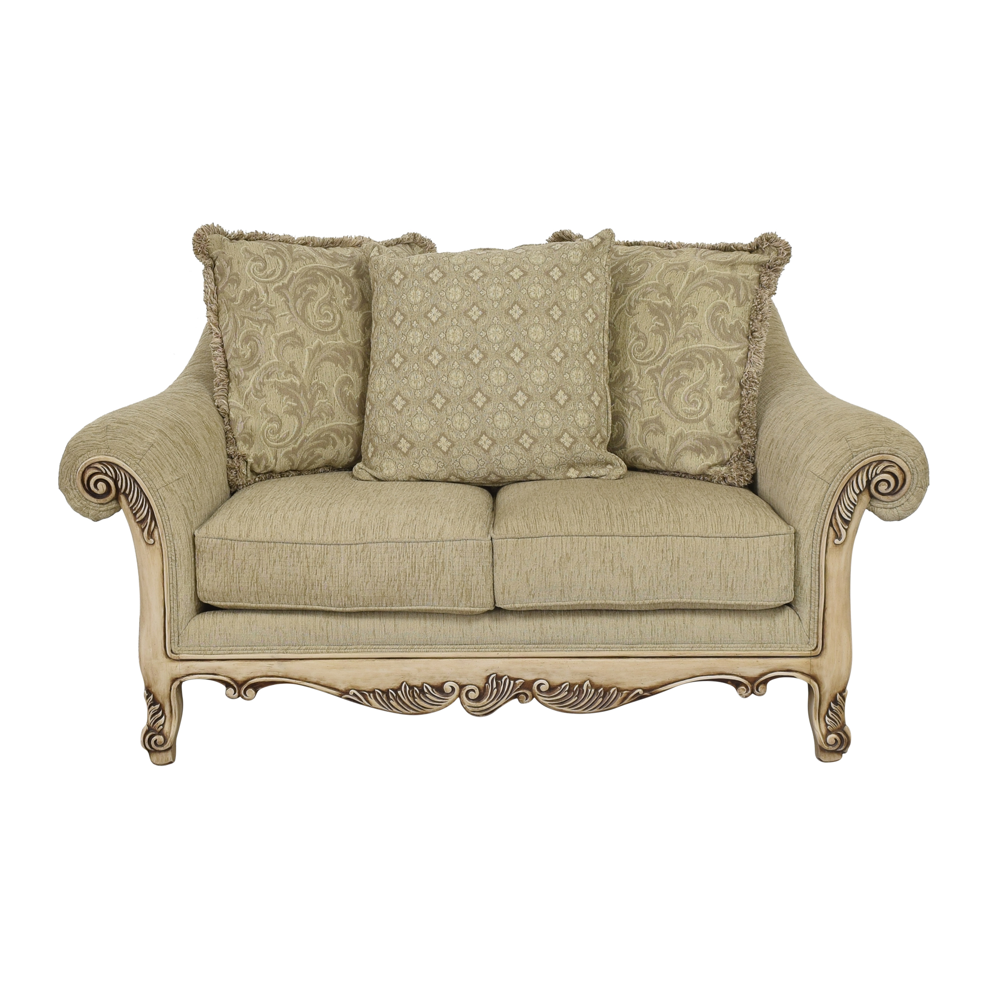 Najarian Furniture Najarian Furniture Roll Arm Loveseat coupon