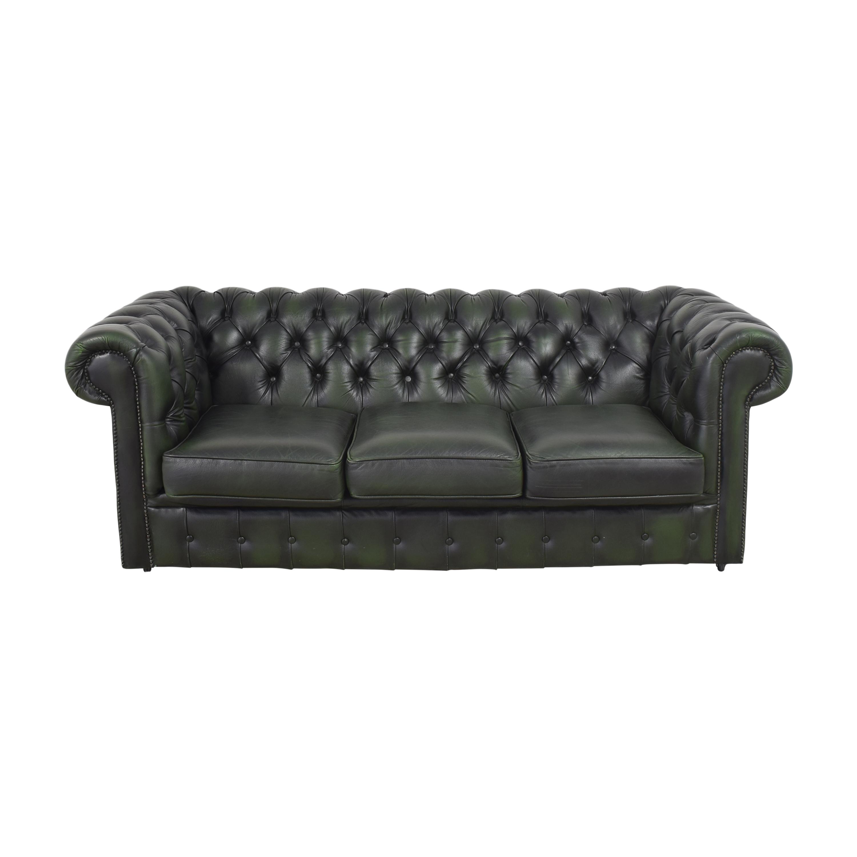 Chesterfield Three Seater Sofa sale