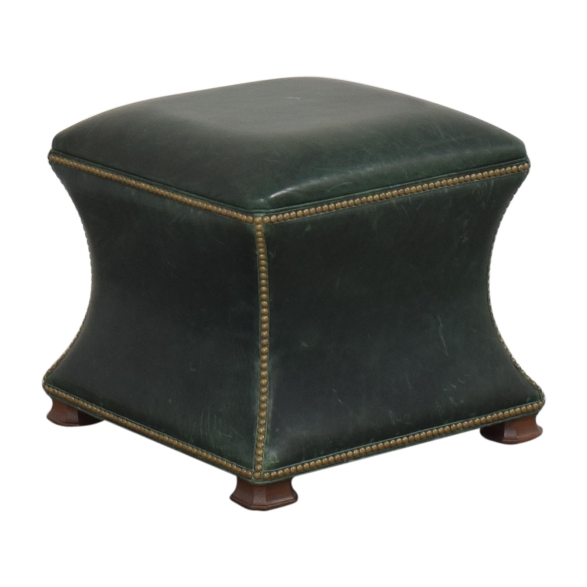Ethan Allen Corbin Ottoman / Chairs
