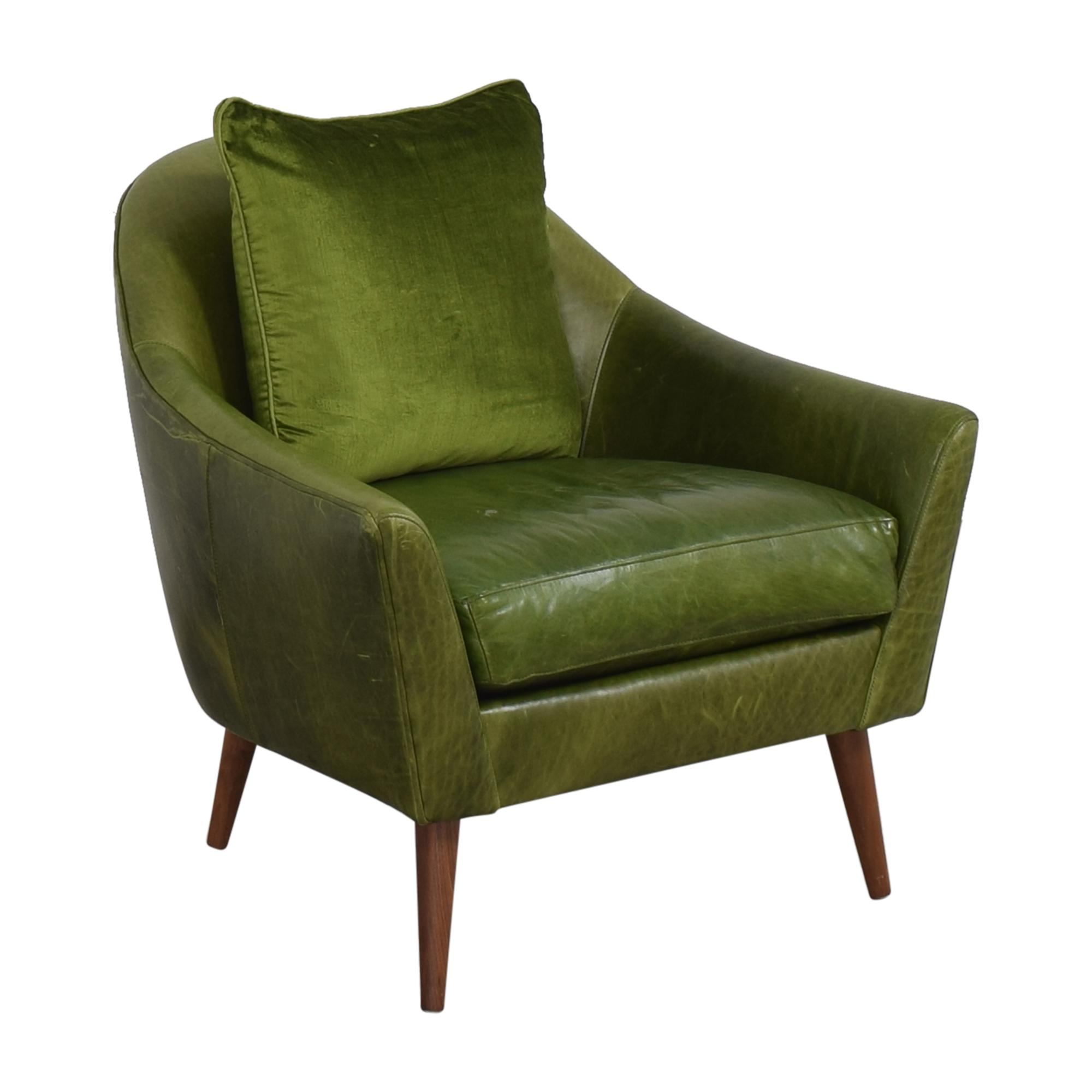 Crate & Barrel Crate & Barrel Modern Accent Chair ct