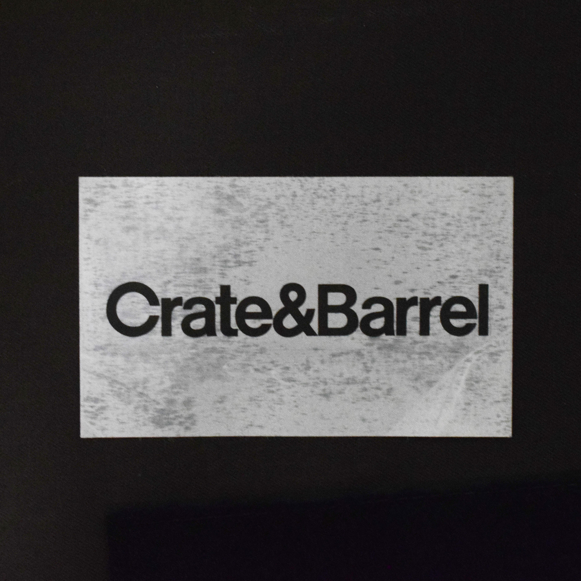 shop Crate & Barrel Modern Accent Chair Crate & Barrel Chairs