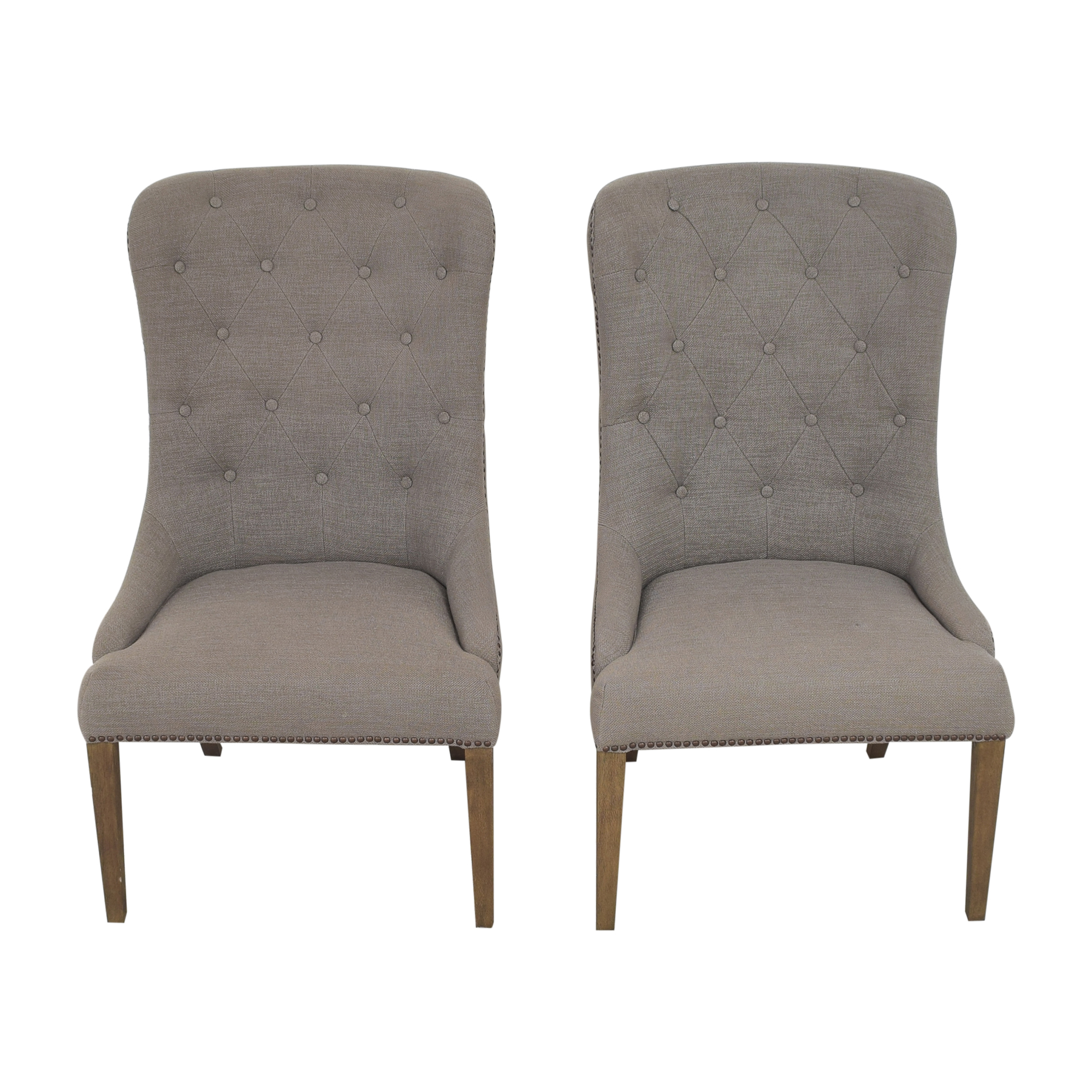 Four Hands Four Hands Elouise Dining Chairs Gray