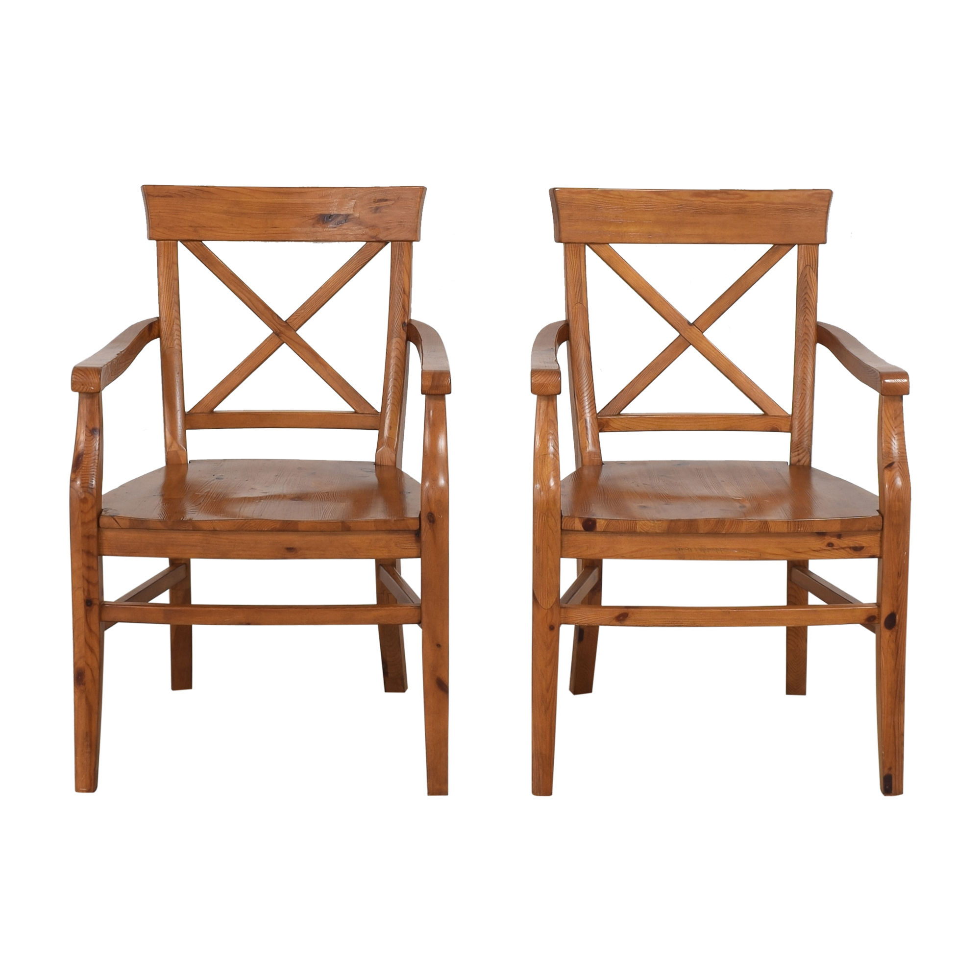 Pottery Barn Pottery Barn Aaron Dining Arm Chairs used