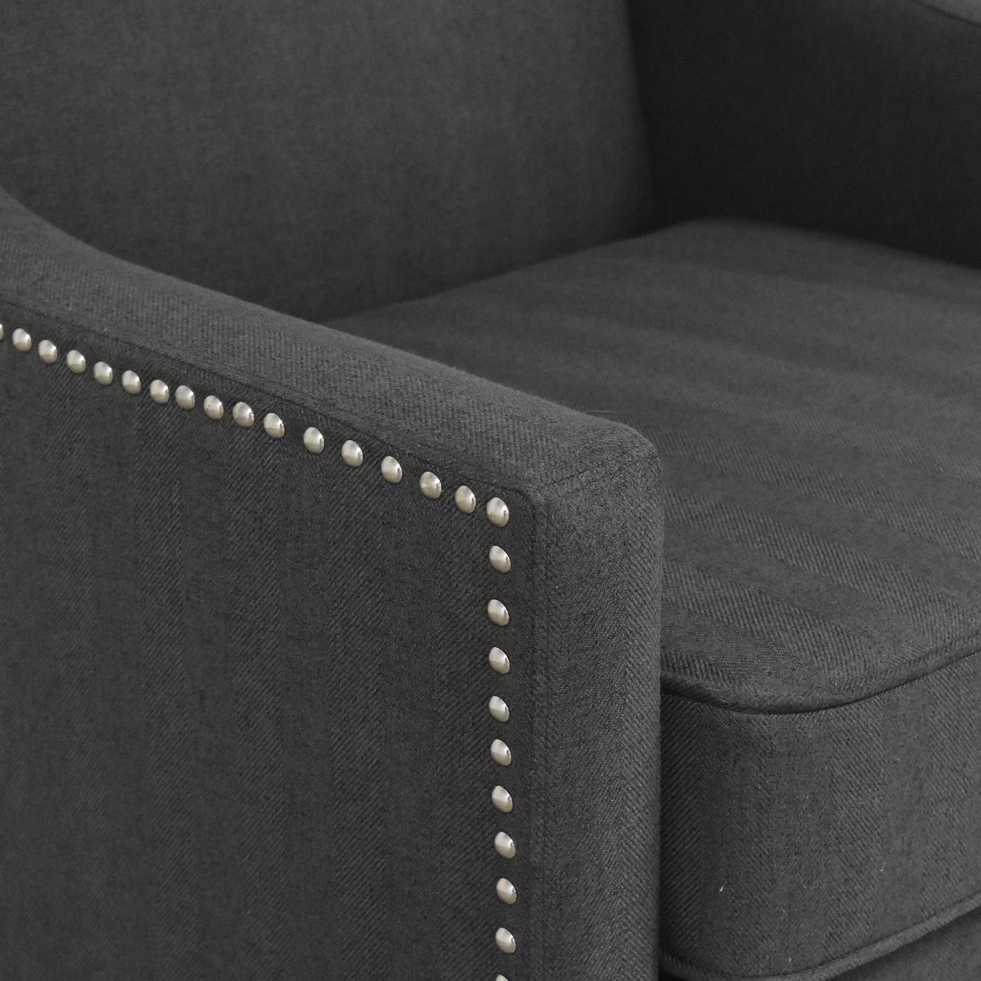 E&E Co. Wingback Arm Chair sale