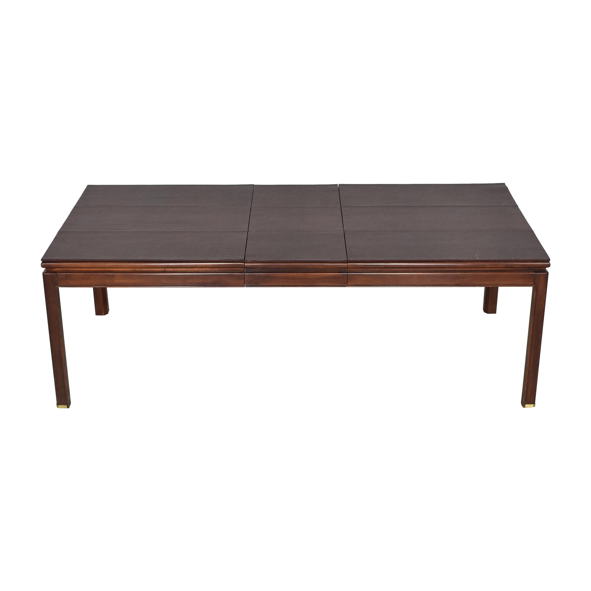 Bernhardt Bernhardt Extendable Dining Table used