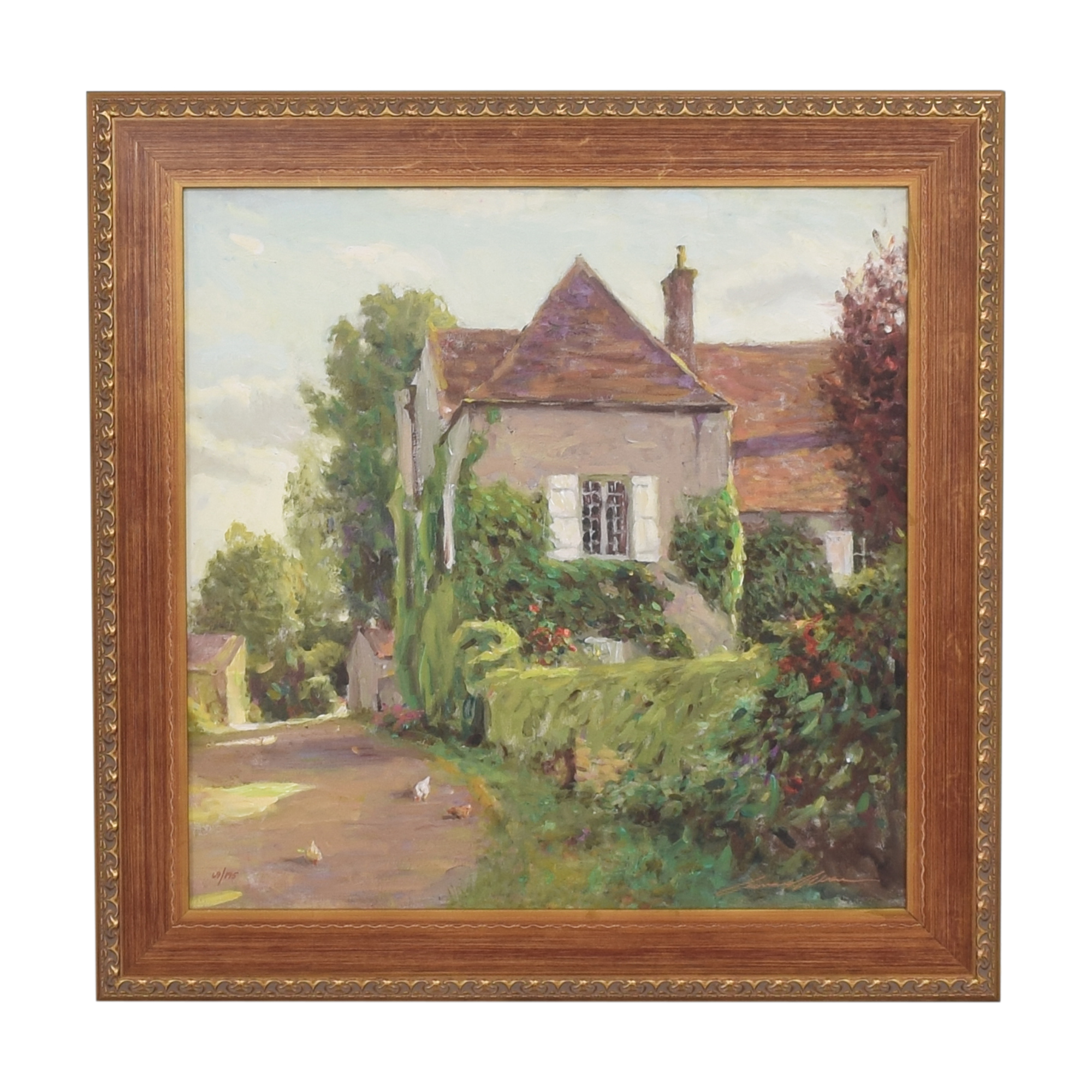 shop Leonard Wren Rue De Poulet Wall Art   Decor