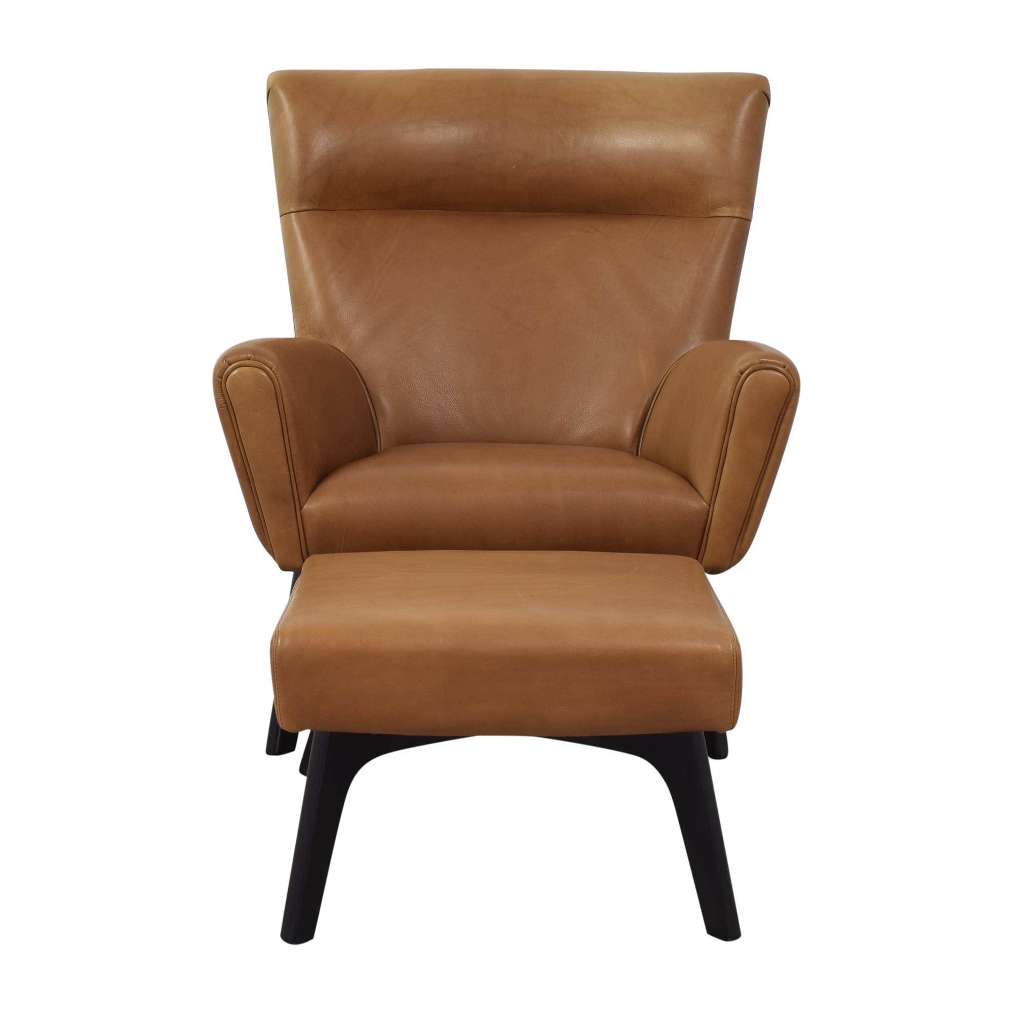 Room & Board Room & Board Boden Chair and Ottoman used