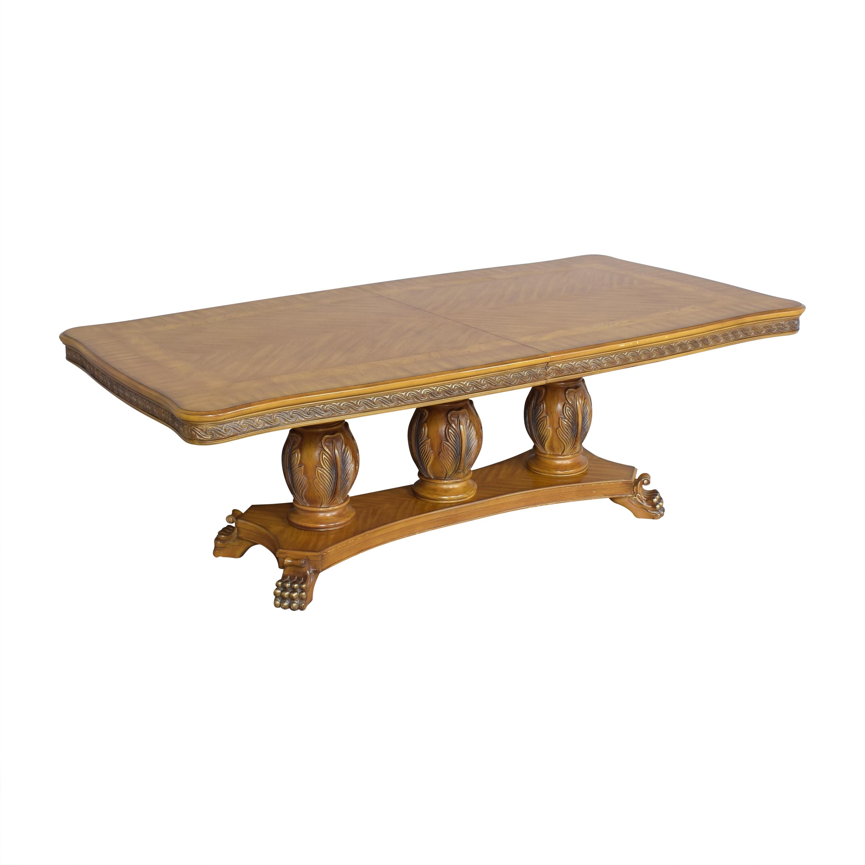 Huffman Koos Huffman Koos Extendable Dining Table dimensions