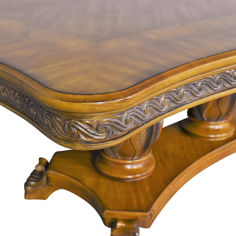 Huffman Koos Huffman Koos Extendable Dining Table used