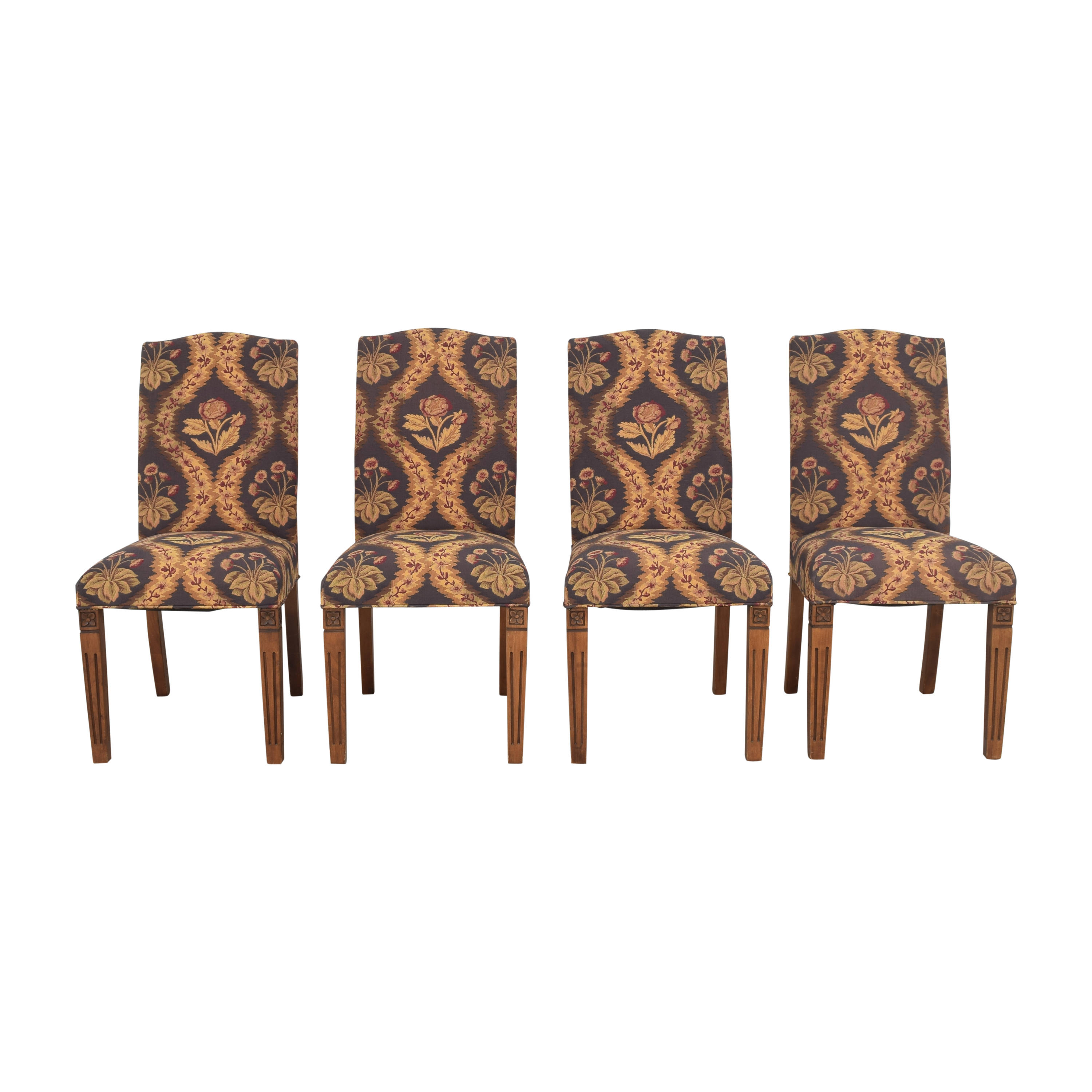 Vintage-Style Tapestry Chairs price
