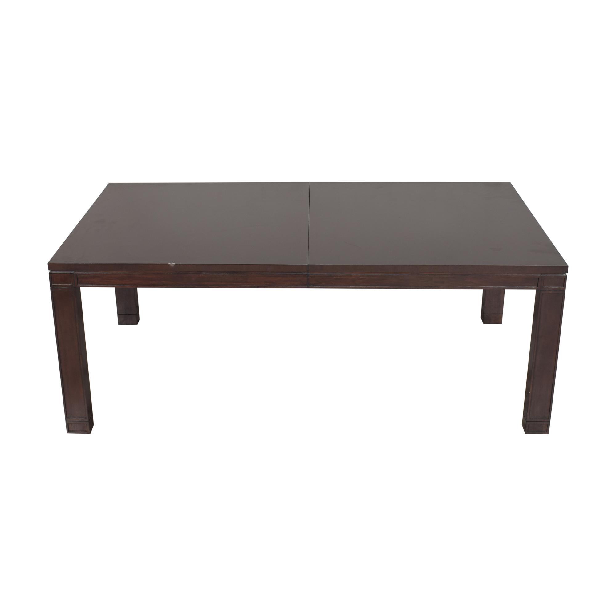 Vanguard Furniture Vanguard Furniture Extendable Dining Table nj