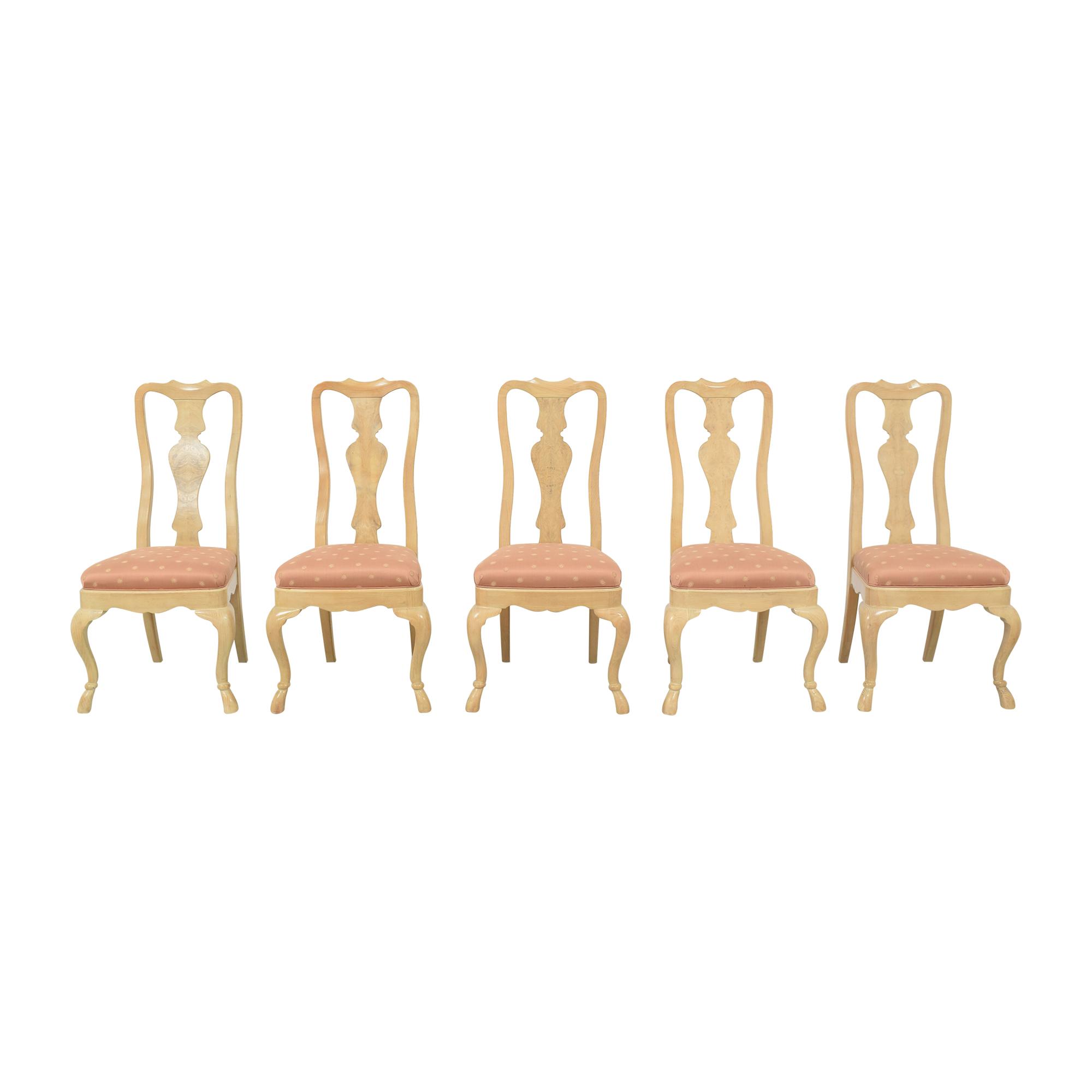shop Drexel Heritage Corinthian Dining Side Chairs Drexel Heritage Dining Chairs