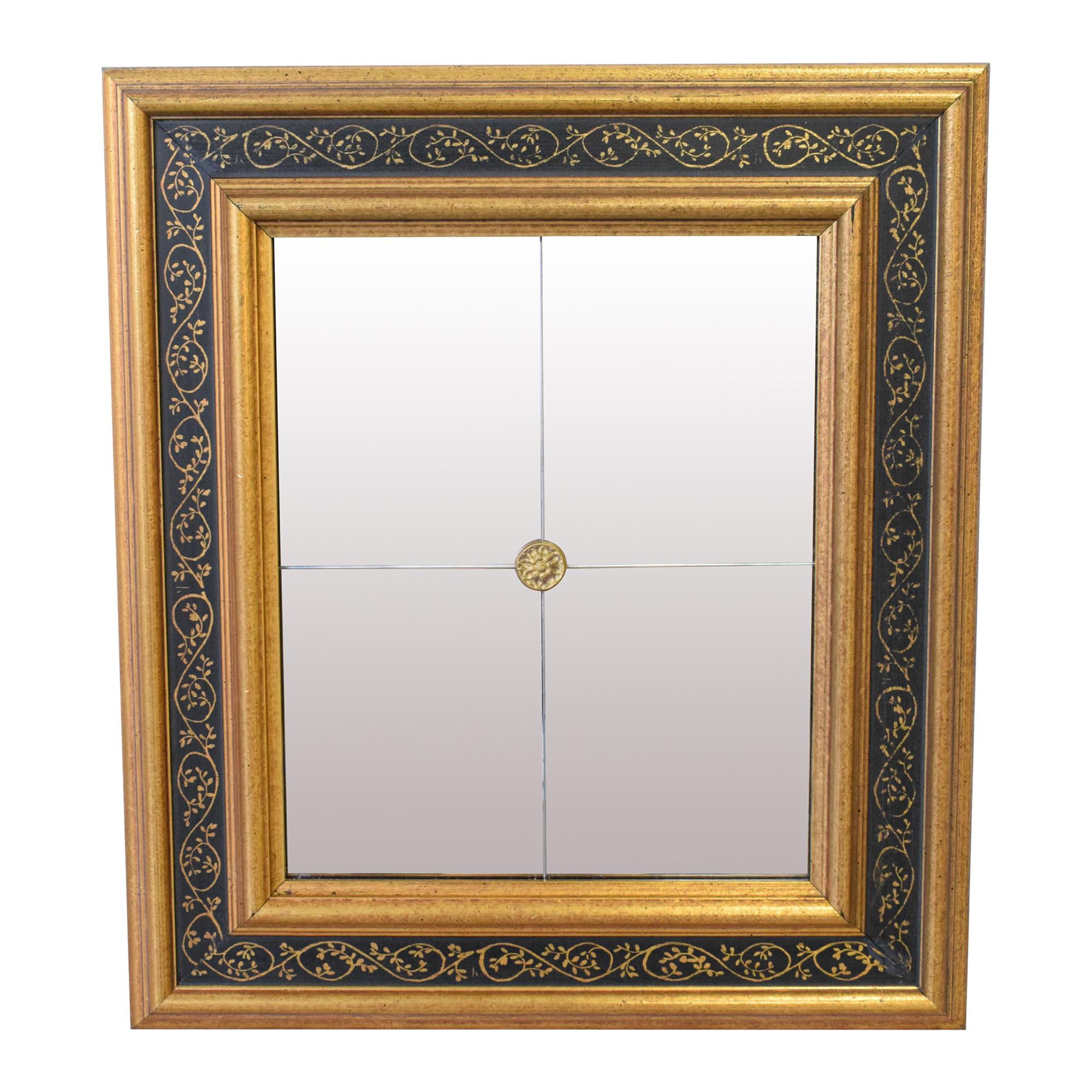 Ethan Allen Ethan Allen Rosette Mini Mirror on sale