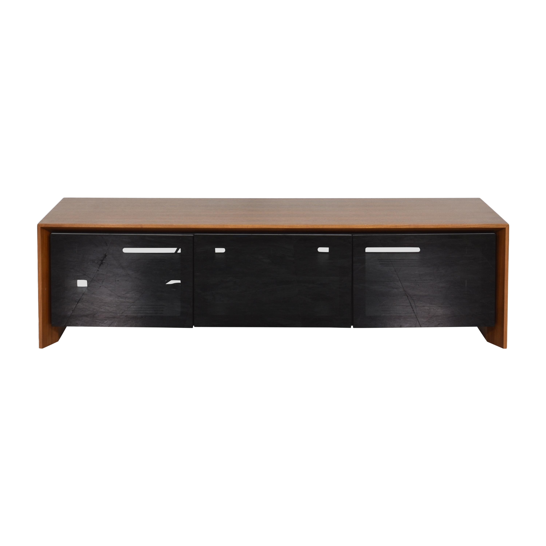 shop BDI Furniture Casata Low Media Console BDI Furniture Storage