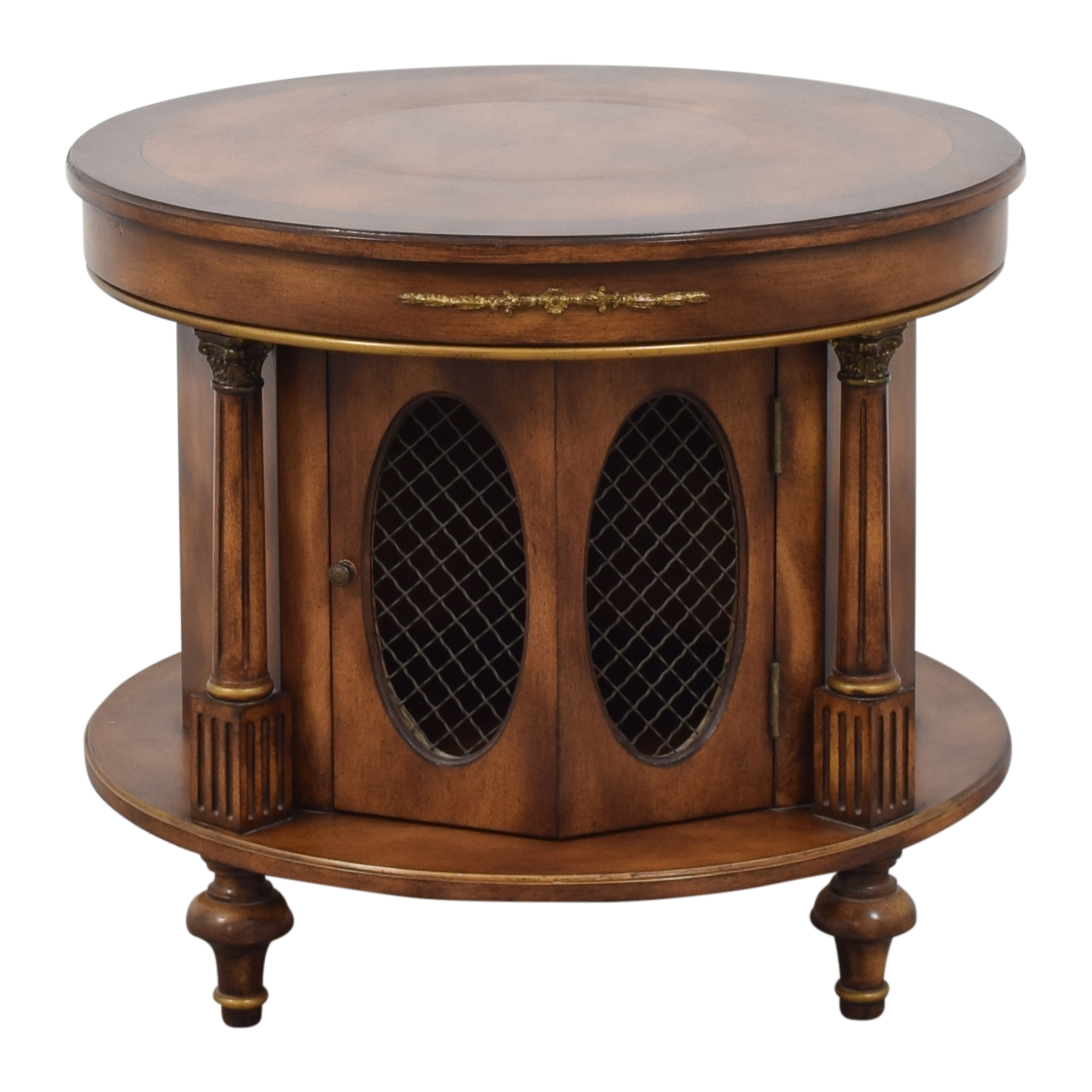 Round Accent Cabinet / Tables