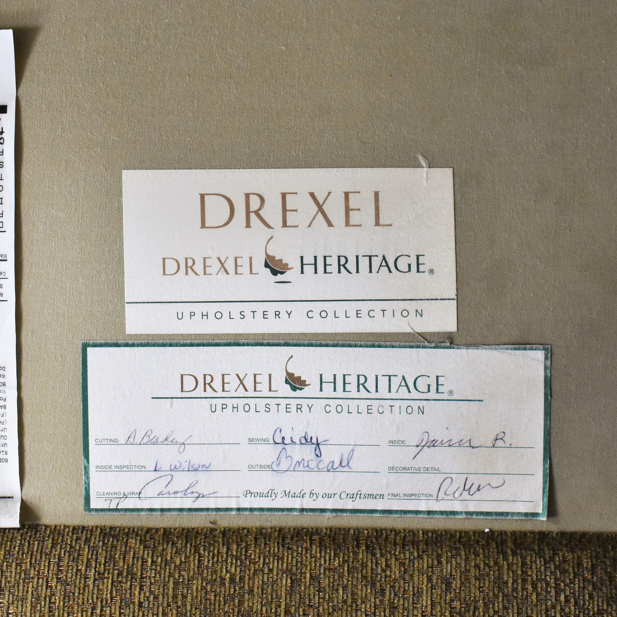 Drexel Heritage Drexel Heritage Corner Sectional Sofa discount