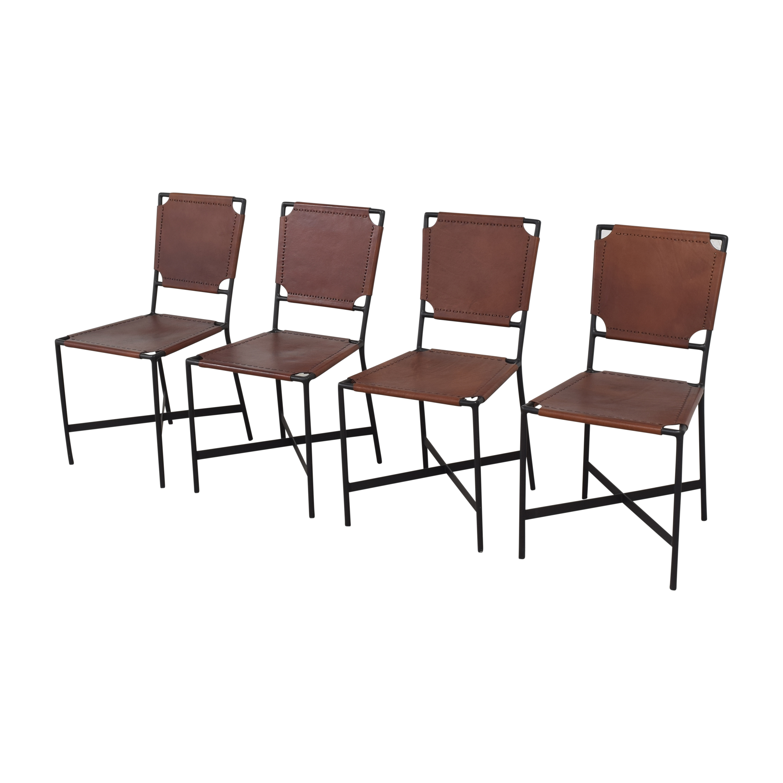 Crate & Barrel Crate & Barrel Laredo Dining Chairs price