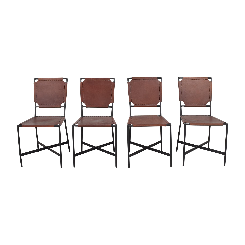 Crate & Barrel Crate & Barrel Laredo Dining Chairs nj