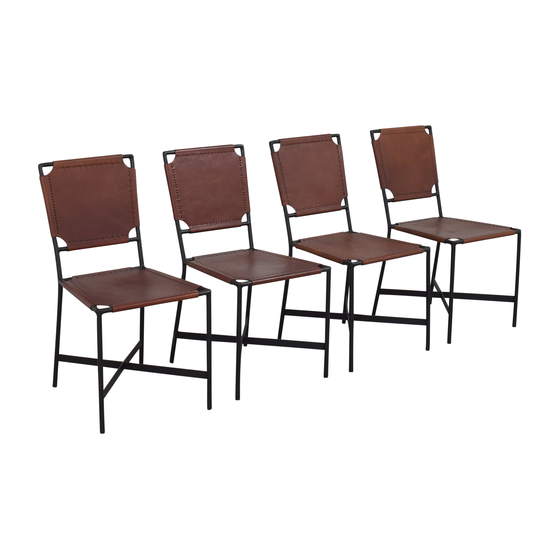 Crate & Barrel Crate & Barrel Laredo Dining Chairs pa