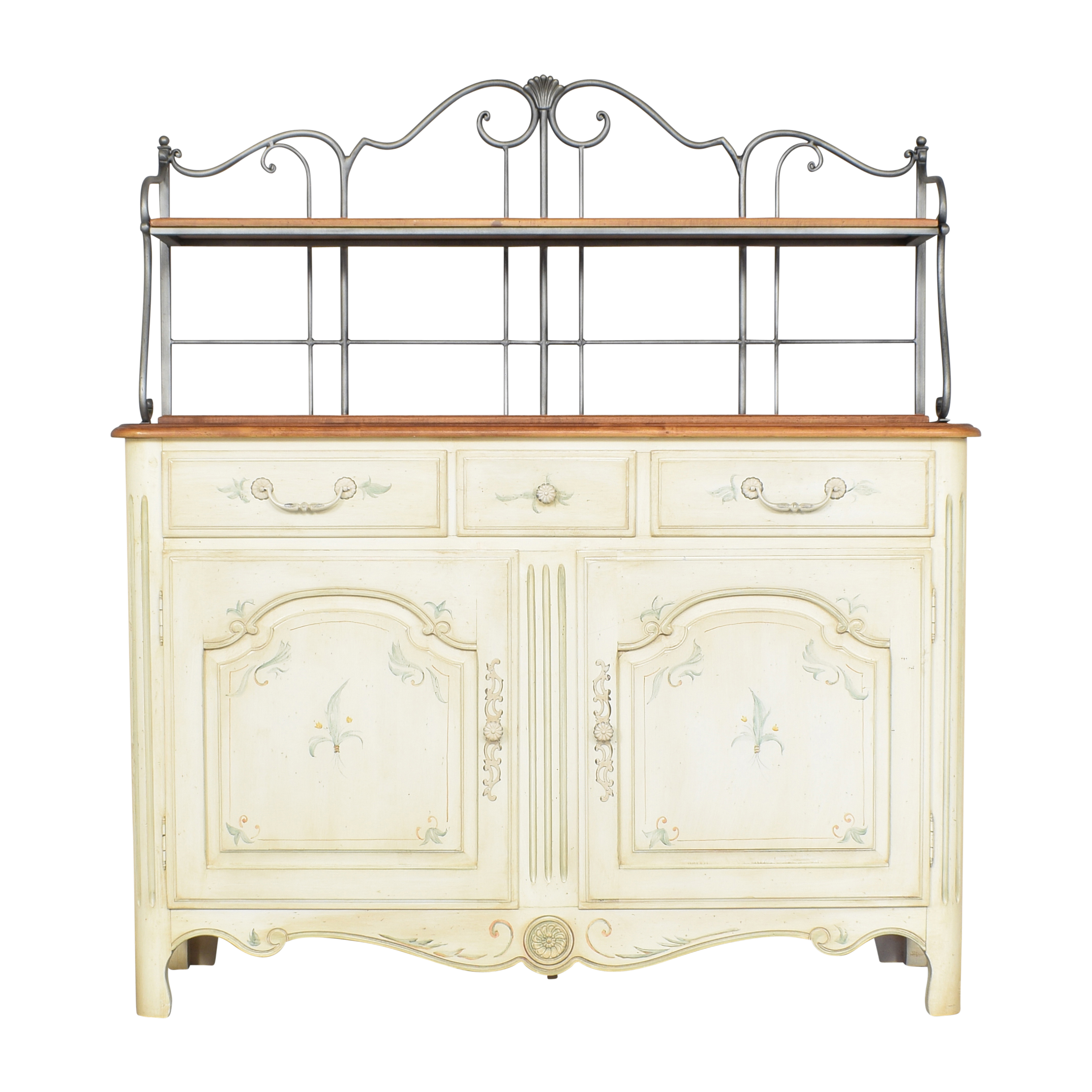 shop Ethan Allen Legacy French Country Baker's Rack Ethan Allen Cabinets & Sideboards